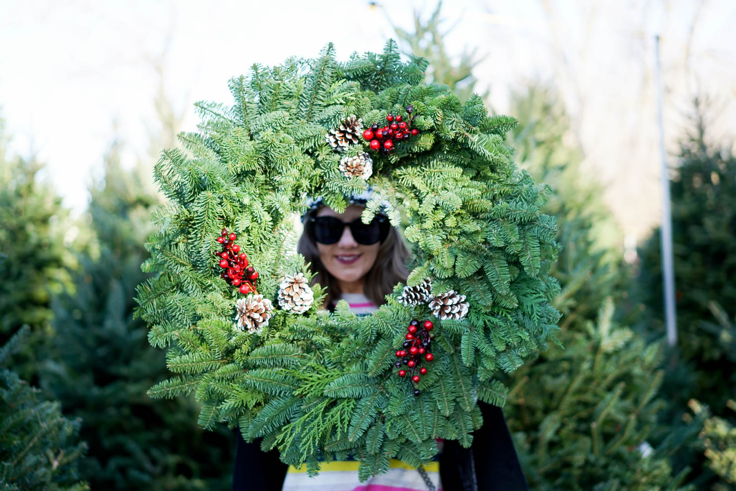 The Best Pklace To Get A Christmas Tree In Chicago What Things To Do In Chicago In December What To Wear To A Christmas Tree Farm How To Pick A Christmas Tree Casual Winter Outfit 13 Wishes Reality