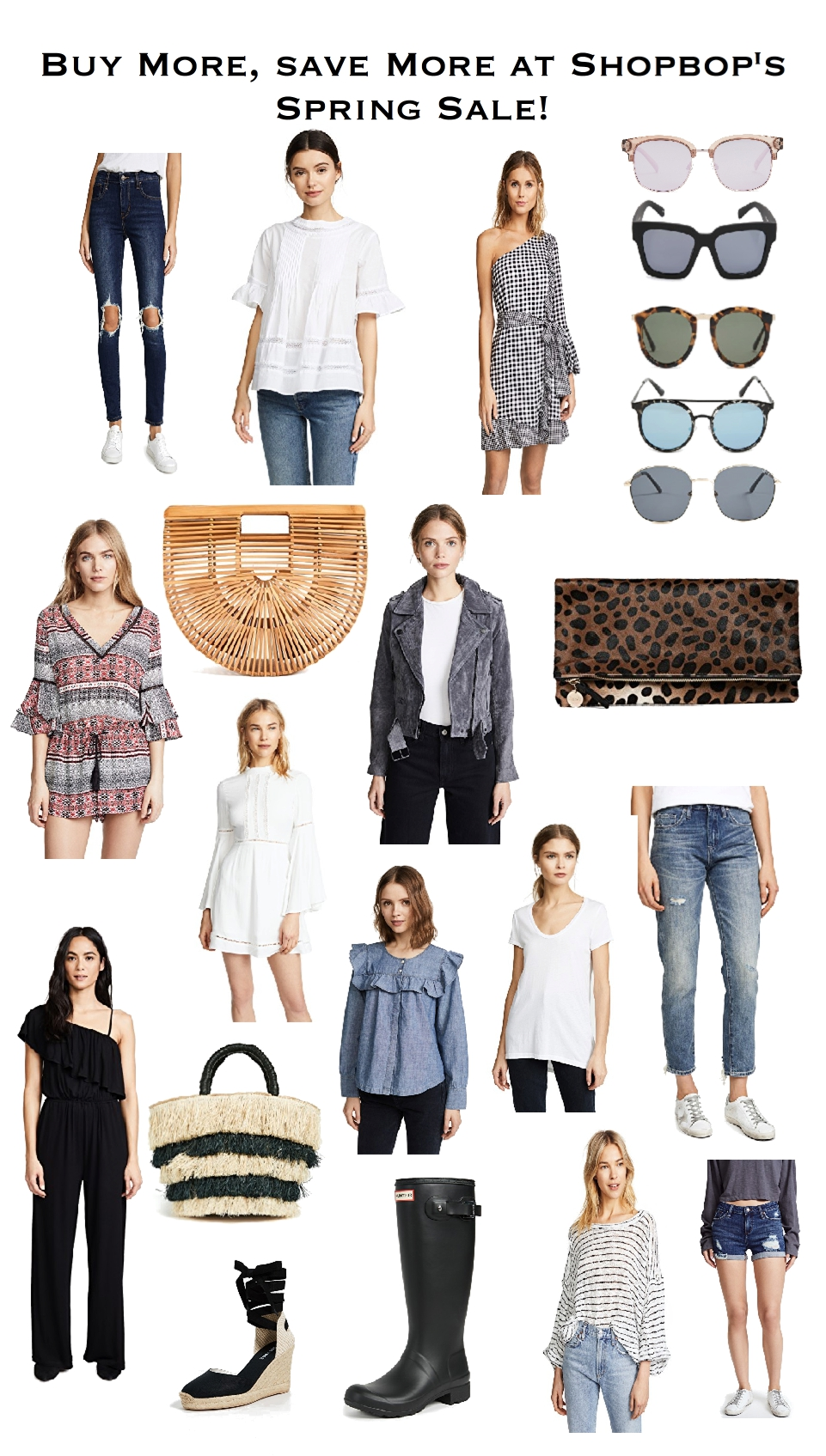 How to Shop Shopbop's Spring Sale, Shopbop's buy more save more spring sale 2018, what to buy, spring 2018 fashion trends, how to get the best deal on designer clothes