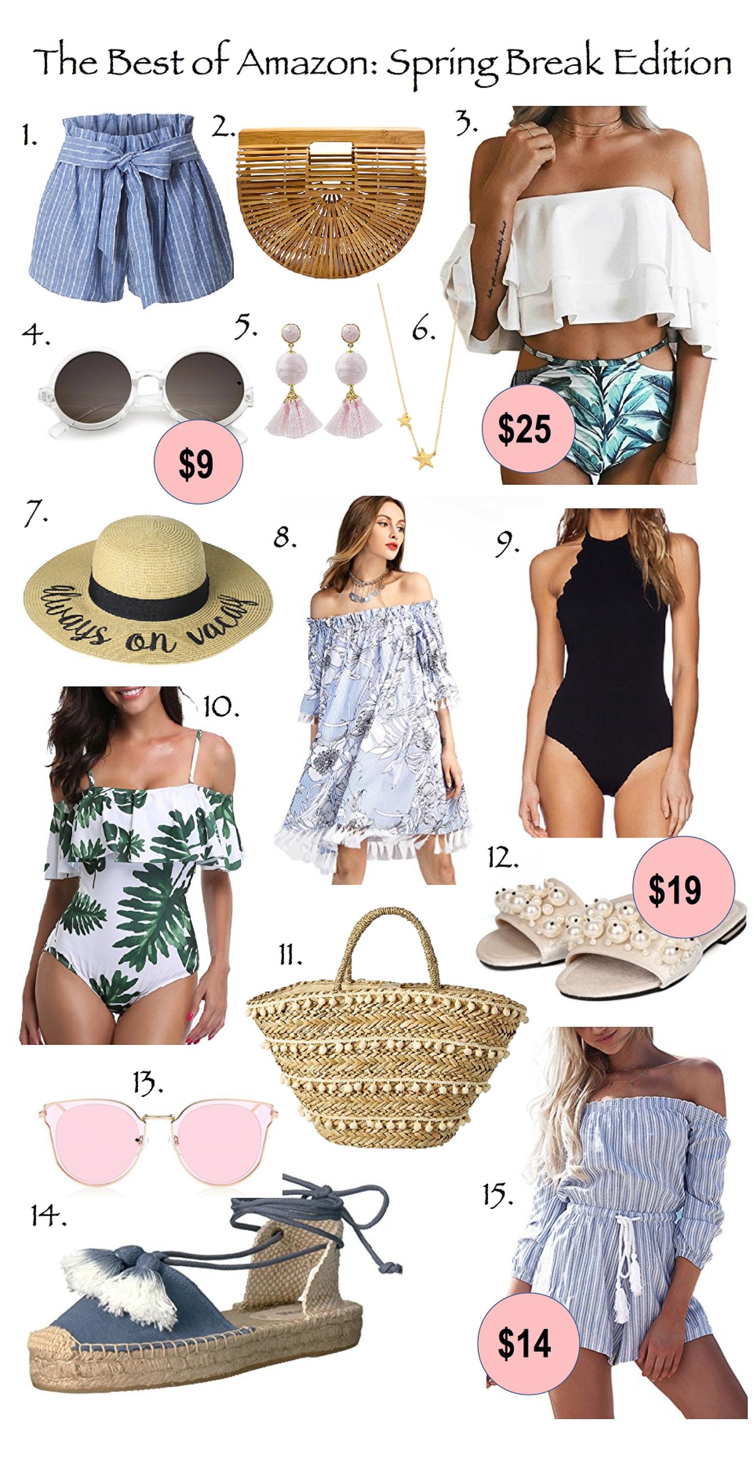The Best Amazon Spring Break Finds, best of amazon spring break, amazon prime best buys