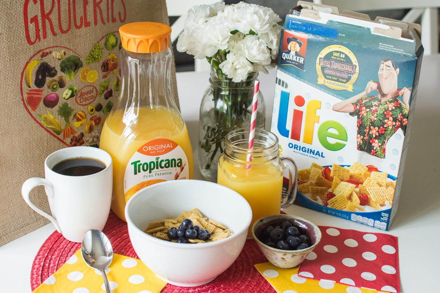 morning hacks, when kids can start helping out in the kitchen, favorite cereal, pepsi, jewel anniversary sale