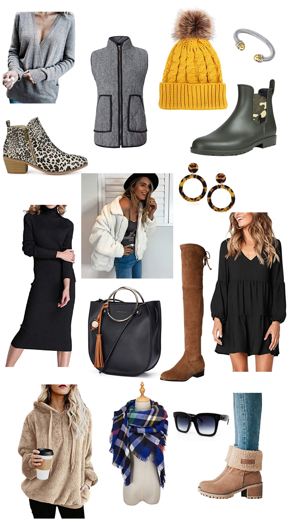 Affordable Fashion and Beauty, Designer Dupes, Affordable Fall and Winter Amazon Fashion Finds