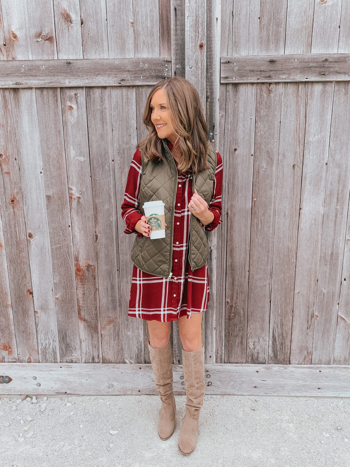 Under $50 dresses for fall family photos, affordable fall fashion, the best fall dresses, Old Navy fall 2018
