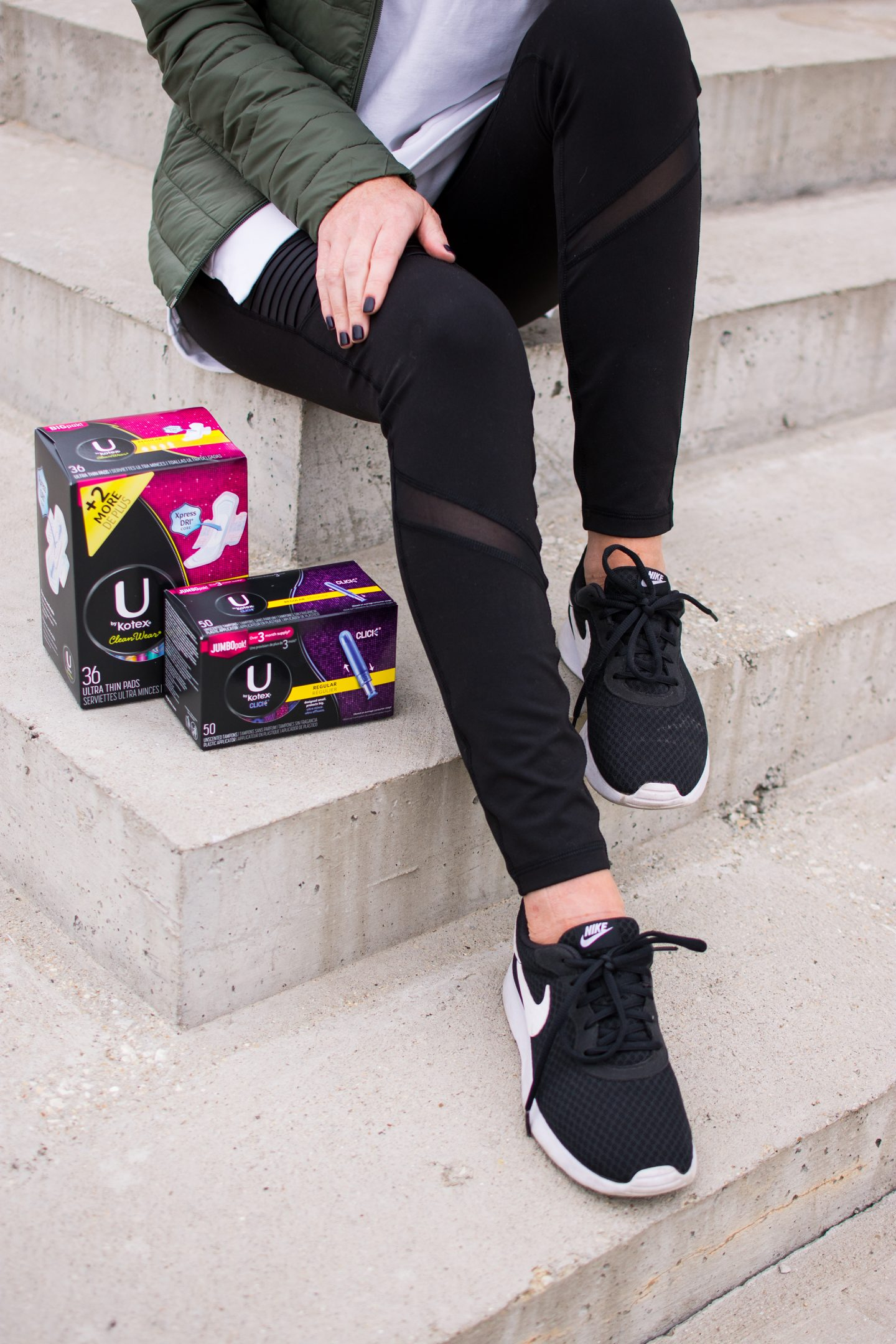 be part of the movement to end period poverty, access to period supplies for women in need, U by kotex