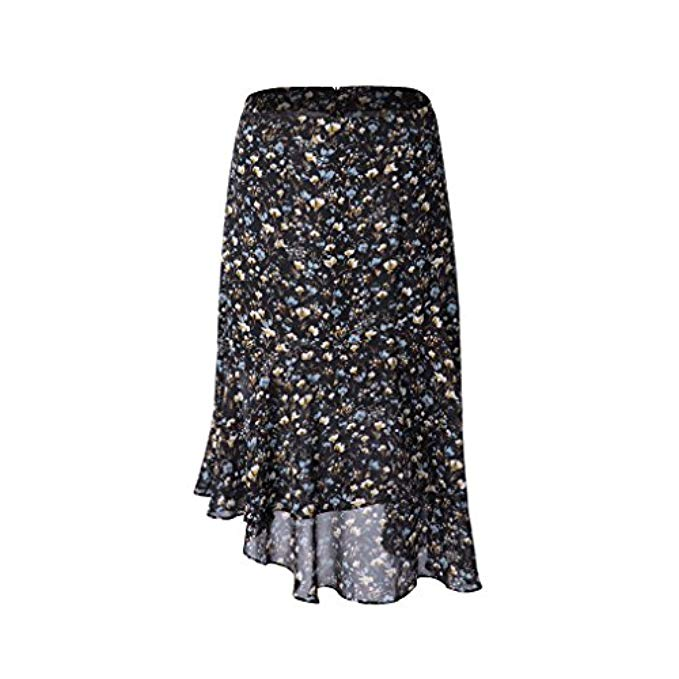 January's Top Ten, Amazon fashion, floral ruffled midi skirt
