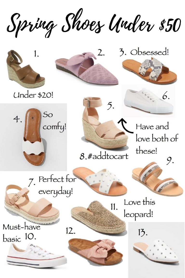 the best spring shoes under 50, target wedges