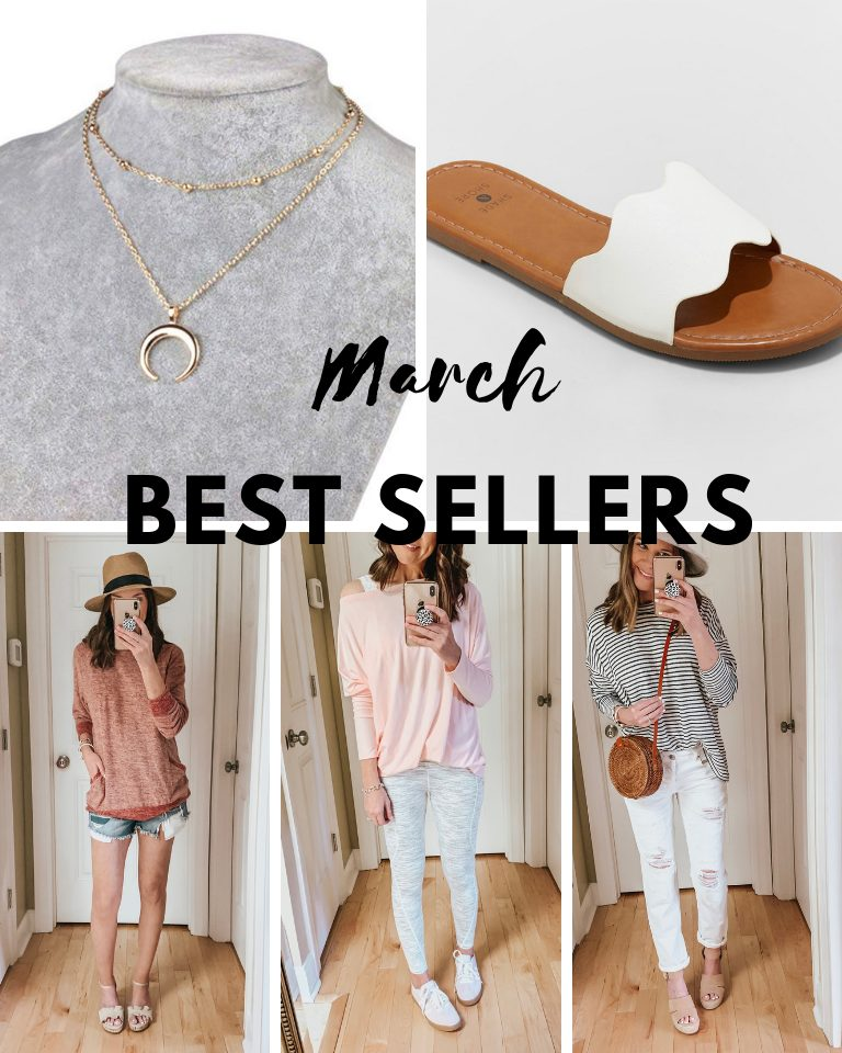 transitional spring outfits, what you loved in March, amazon fashion, spring fashion