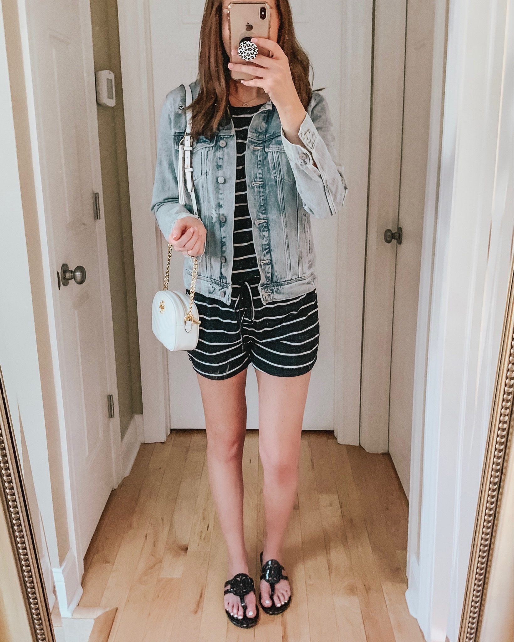casual wardrobe basics, Amazon fashion, romper, casual outfit, stripes, summer outfit