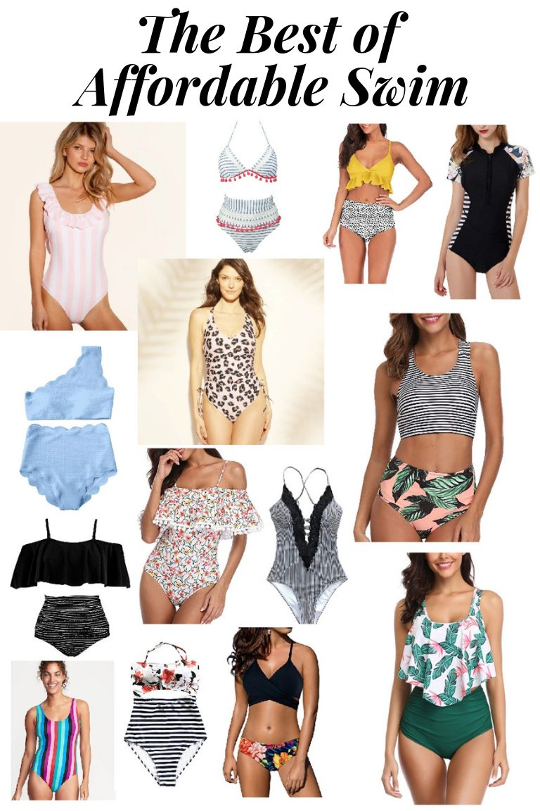 the best affordable swimsuits, target, amazon, one piece, two piece, bikini, surf suit