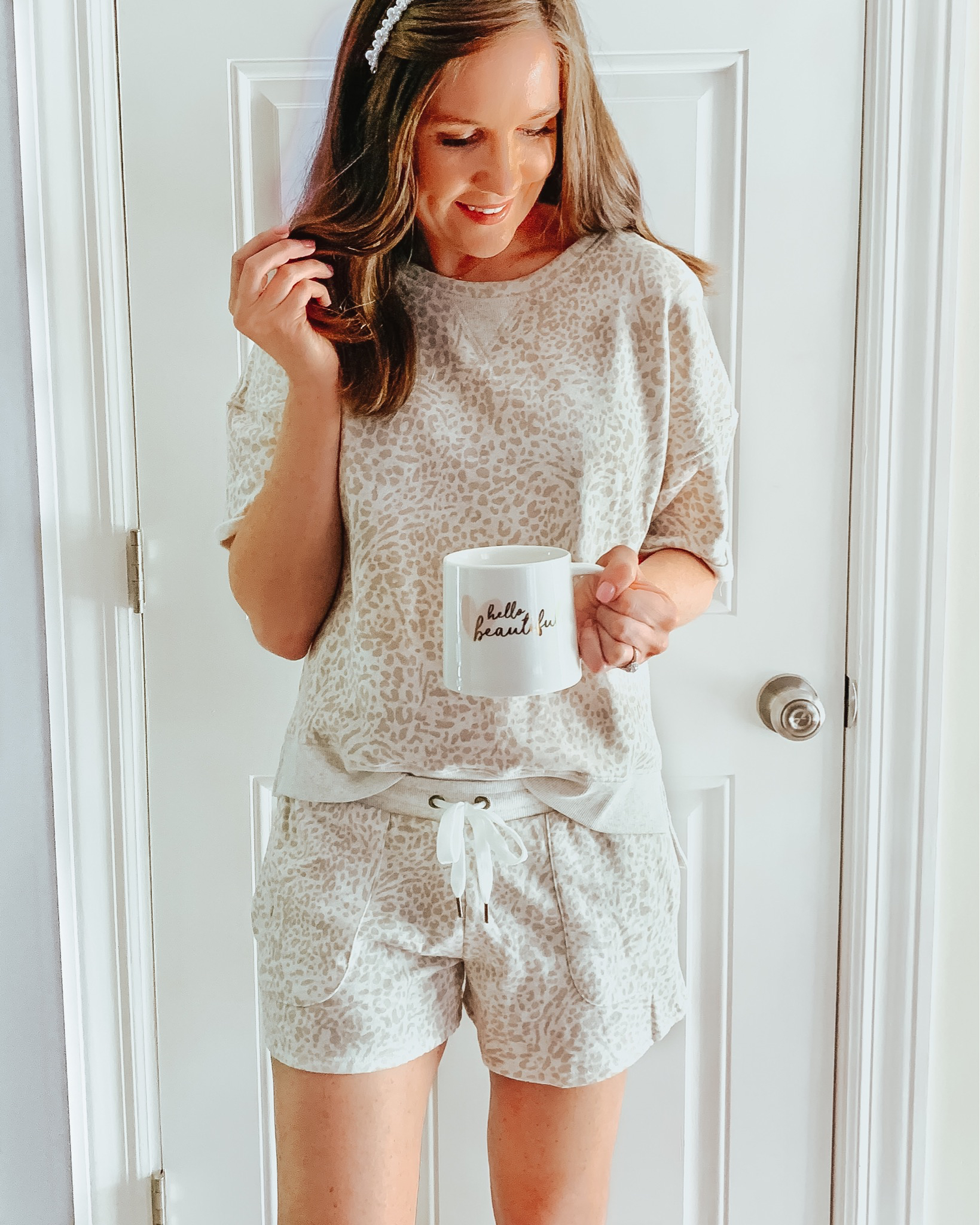 how to shop social media, Target leopard loungewear