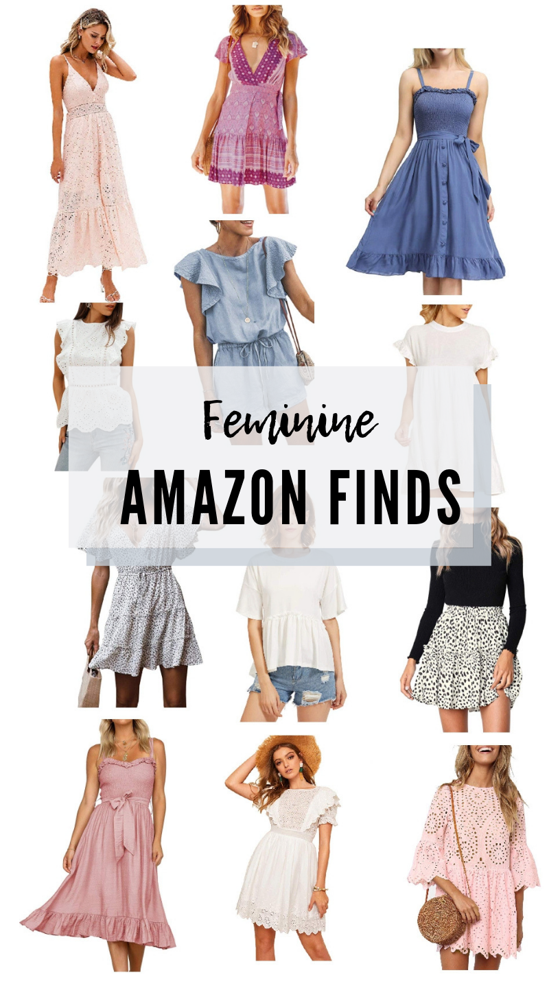 feminine Amazon finds