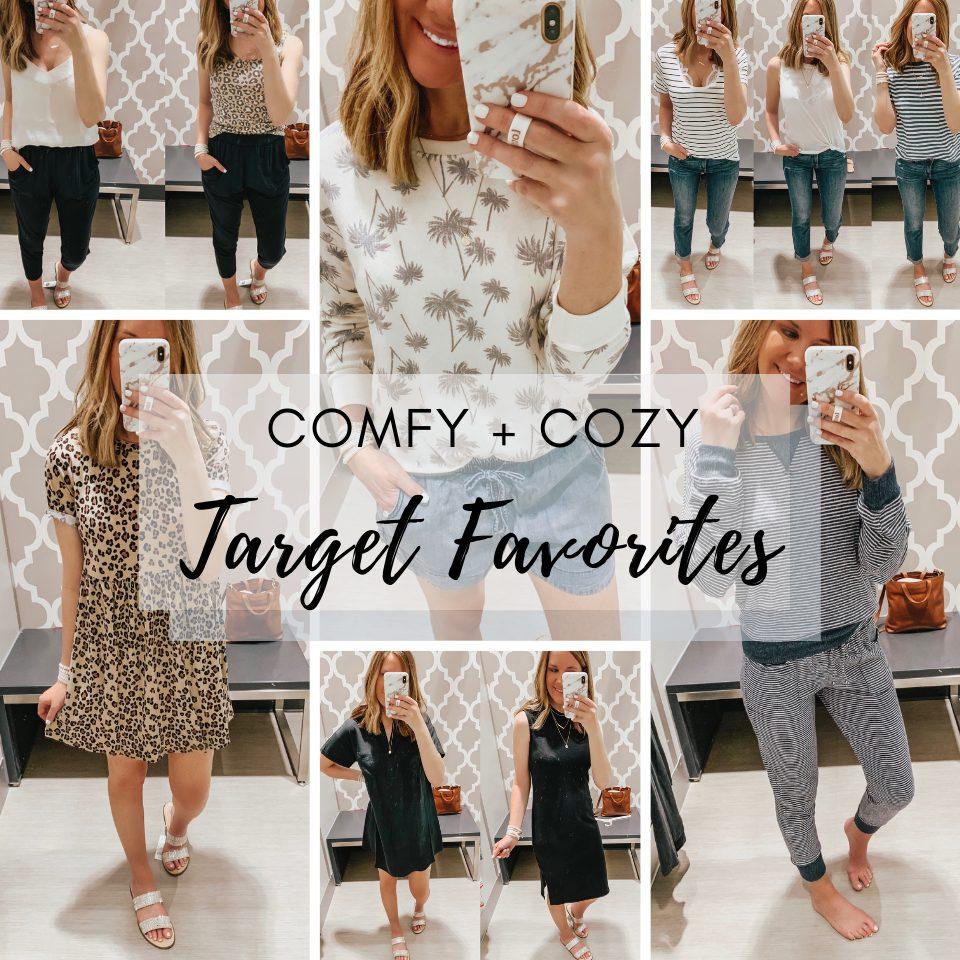comfy cozy Target favorites