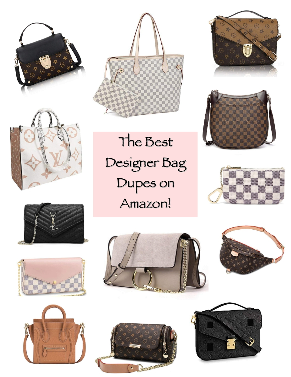 the best designer inspired bags on Amazon