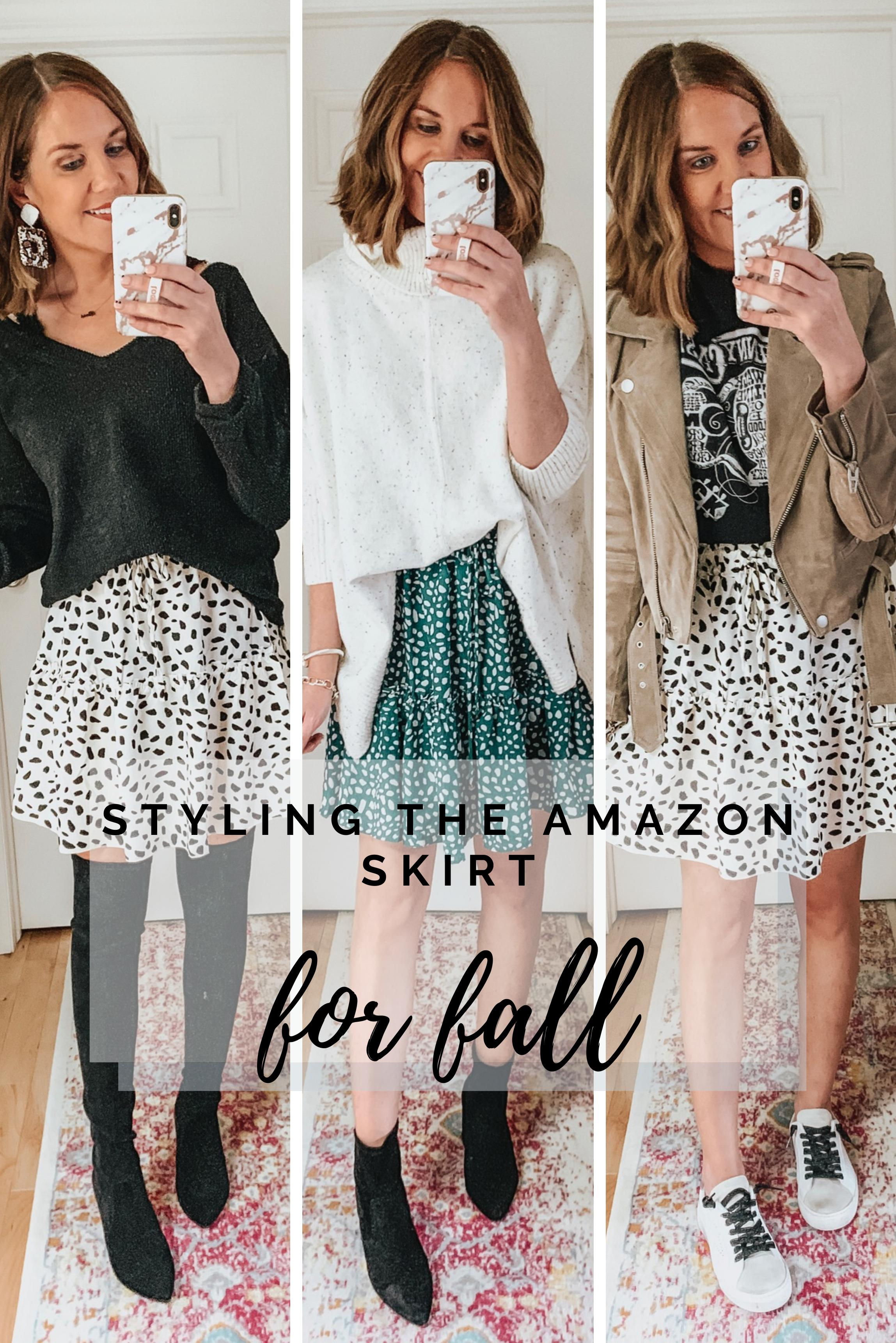 styling-the-Amazon-mini-skirt-for-fall