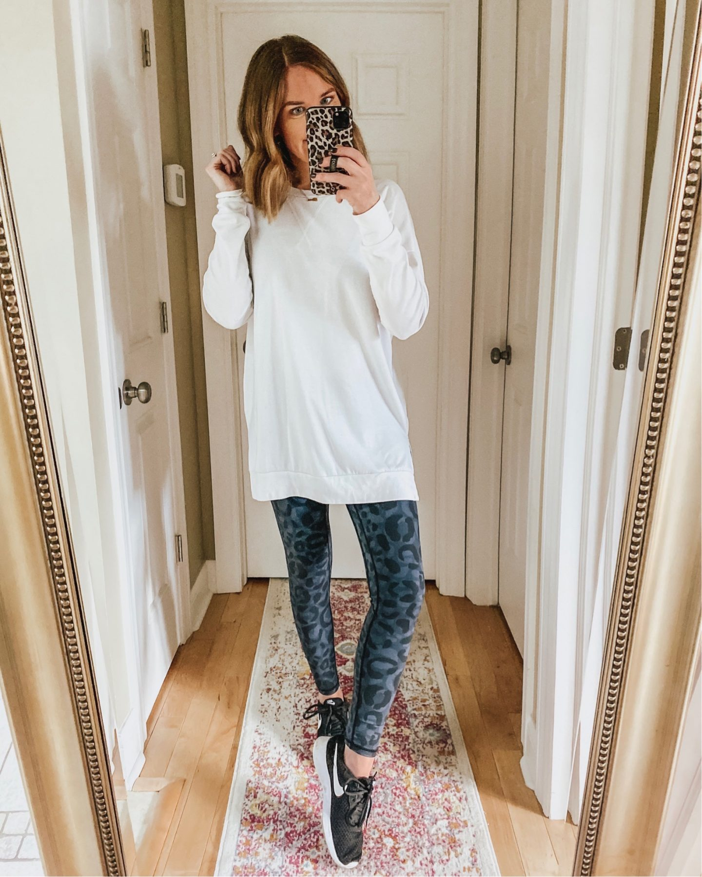 leopard-leggings-white-long-sleeve-tunic-tee-the-best-Amazon-leggings