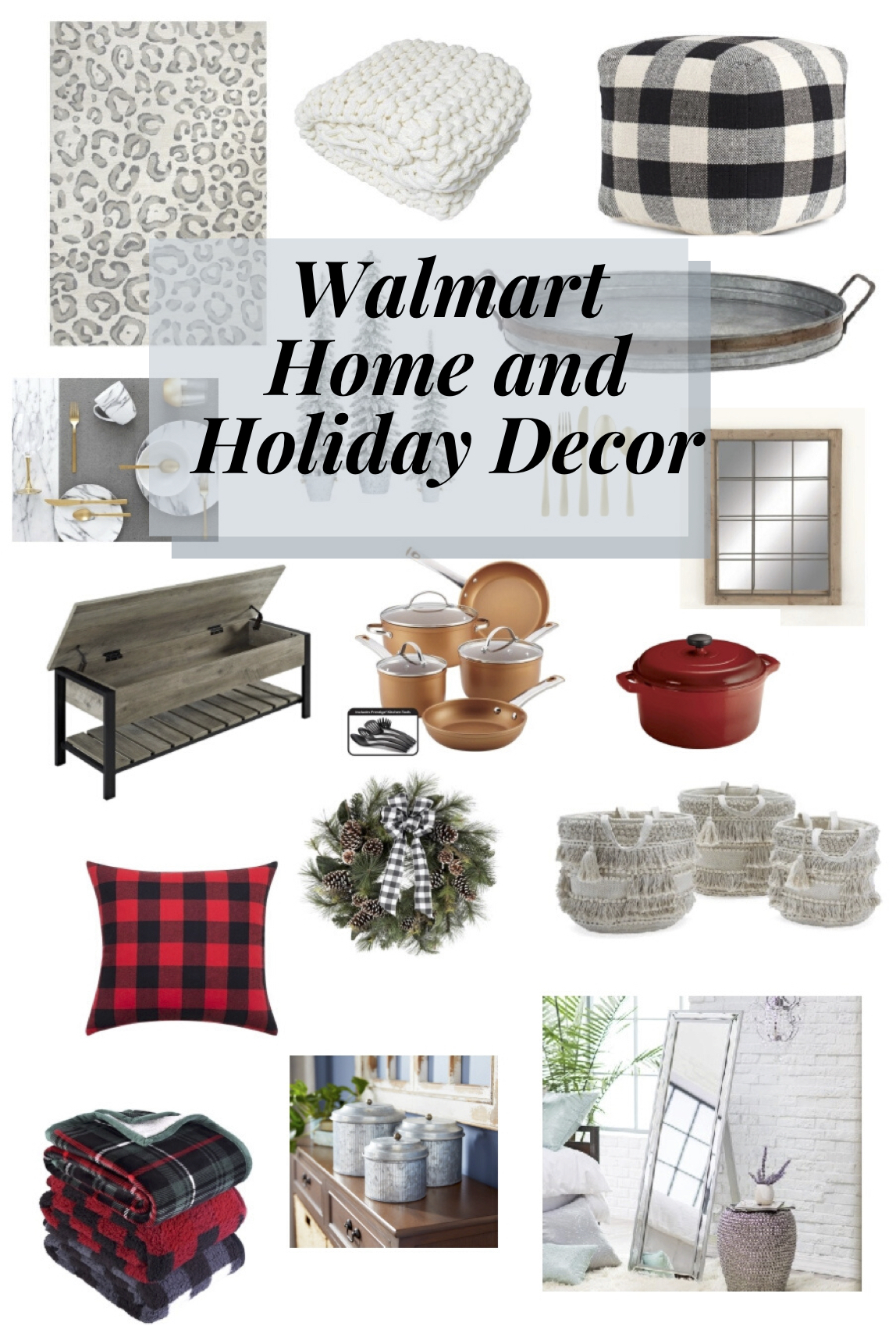 Holiday and home decor from Walmart