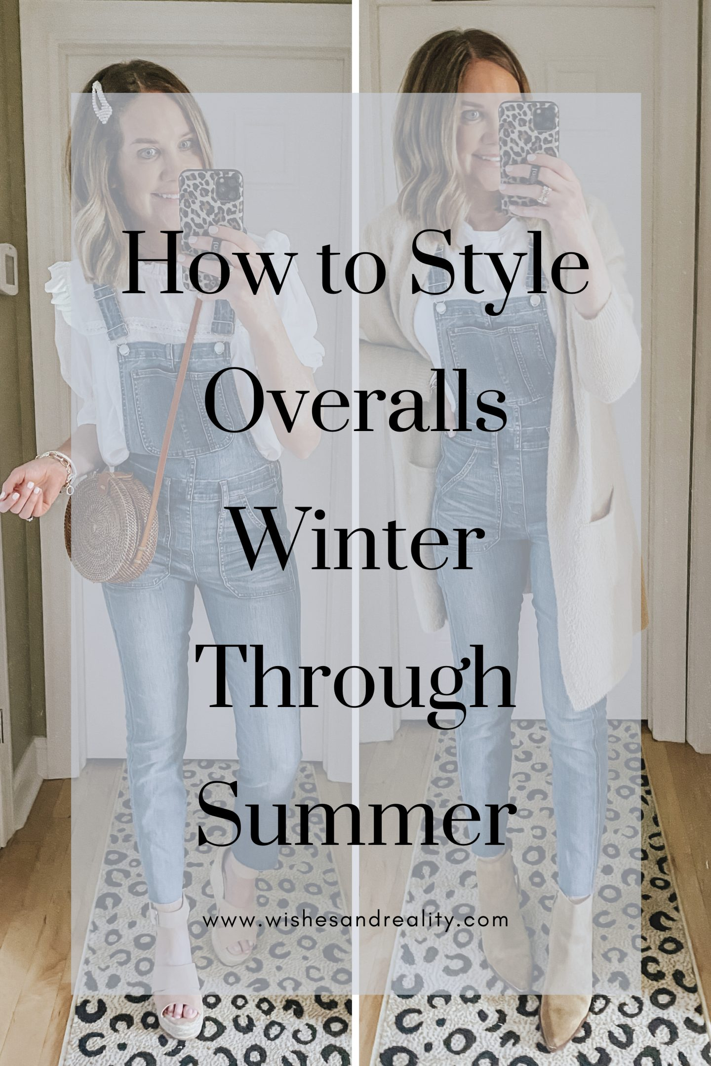How to Style Overalls Winter Through Summer