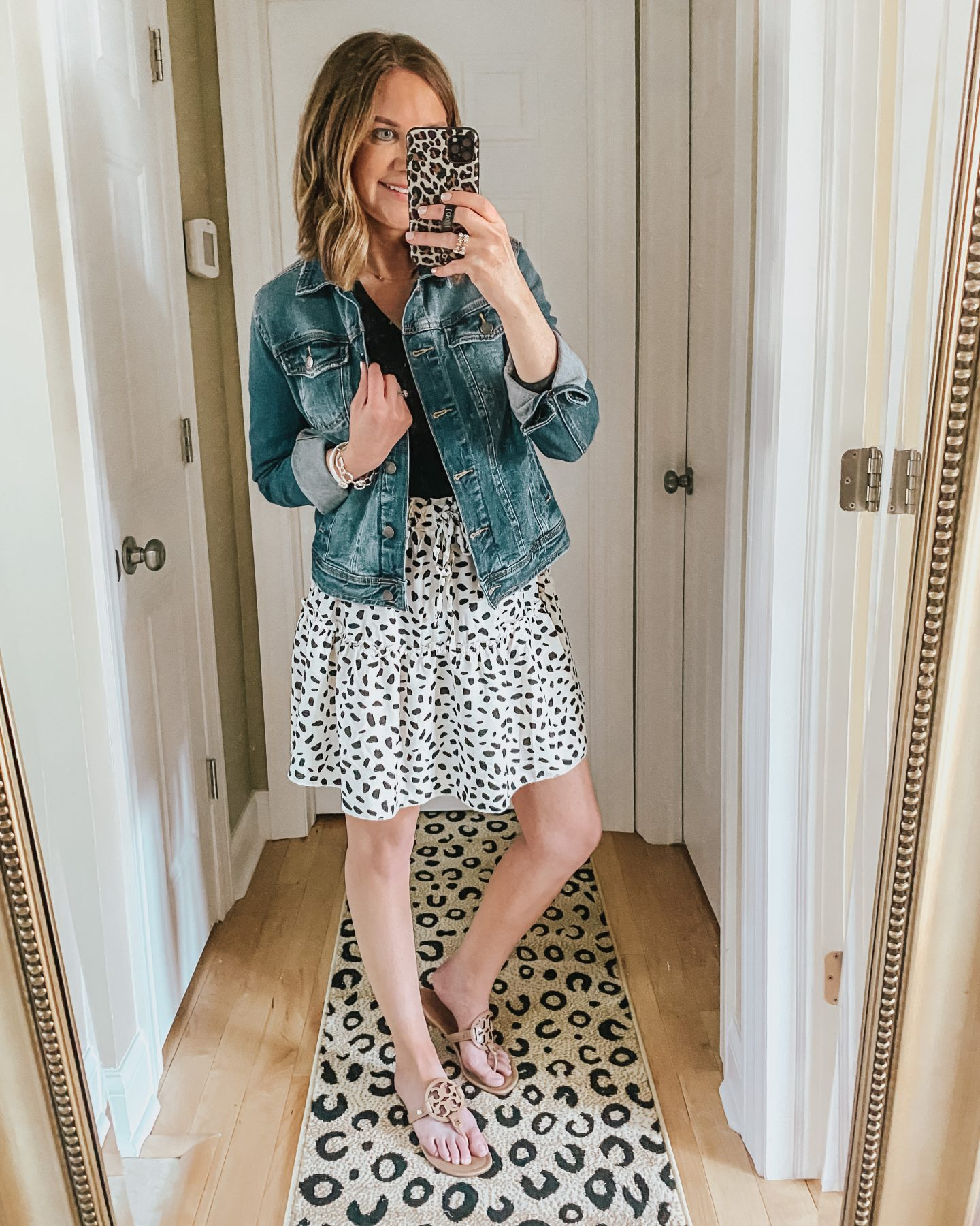 the best amazon finds for spring and summer, tiered ruffle mini skirt