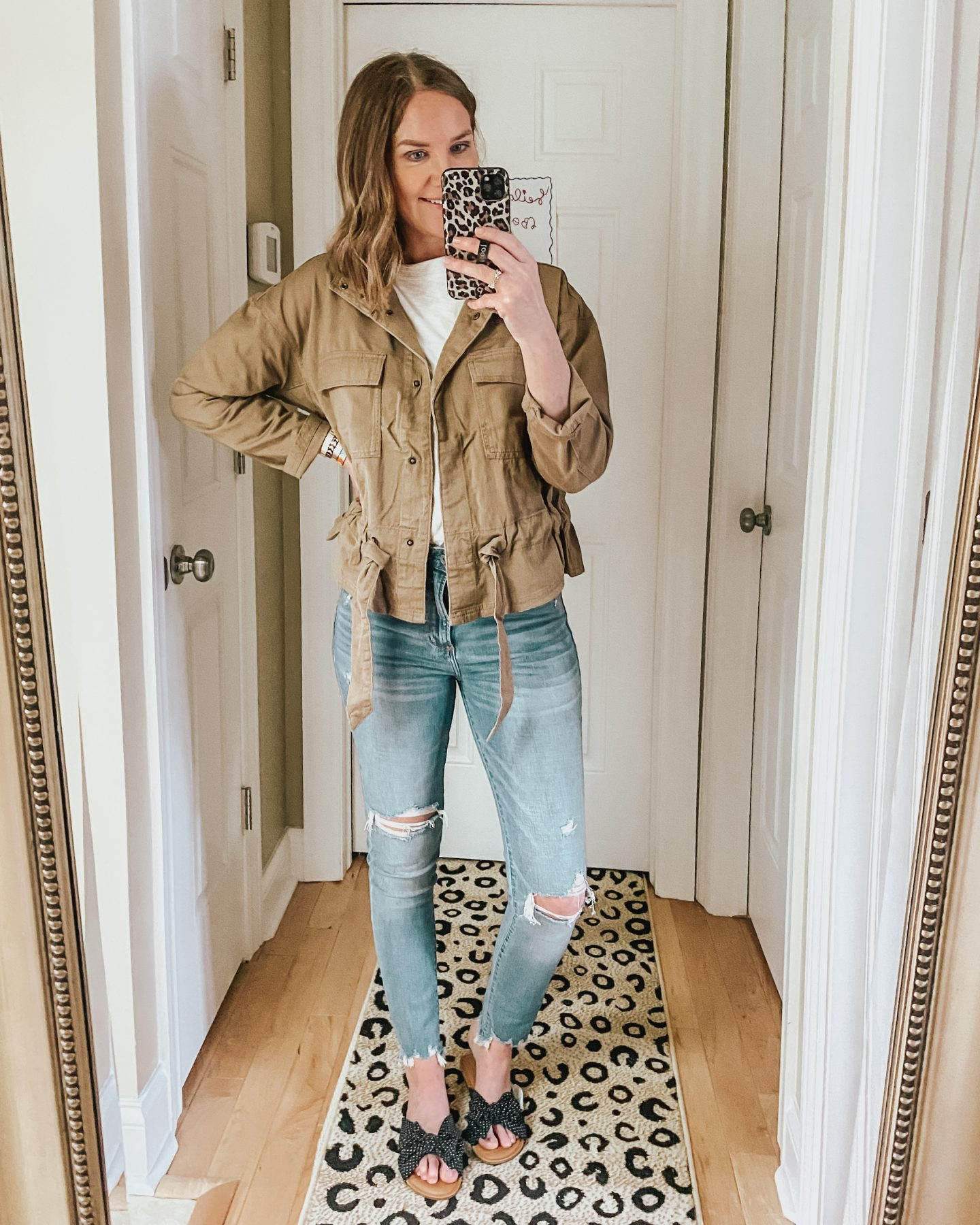 Walmart-spring-2020-peplum-utility-jacket