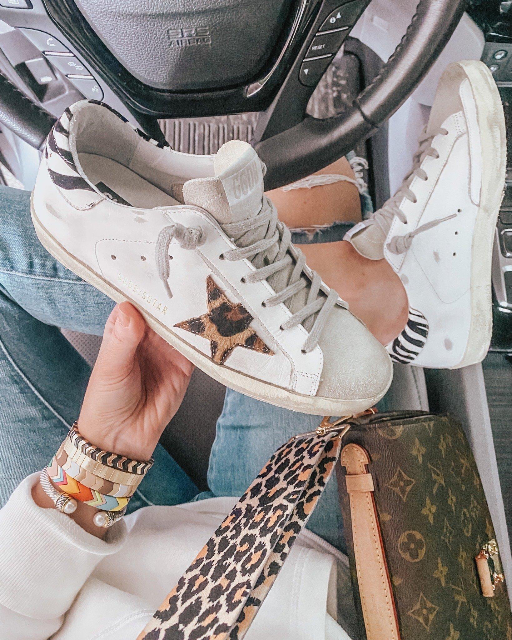 Golden-Goose-sneakers-leopard-star
