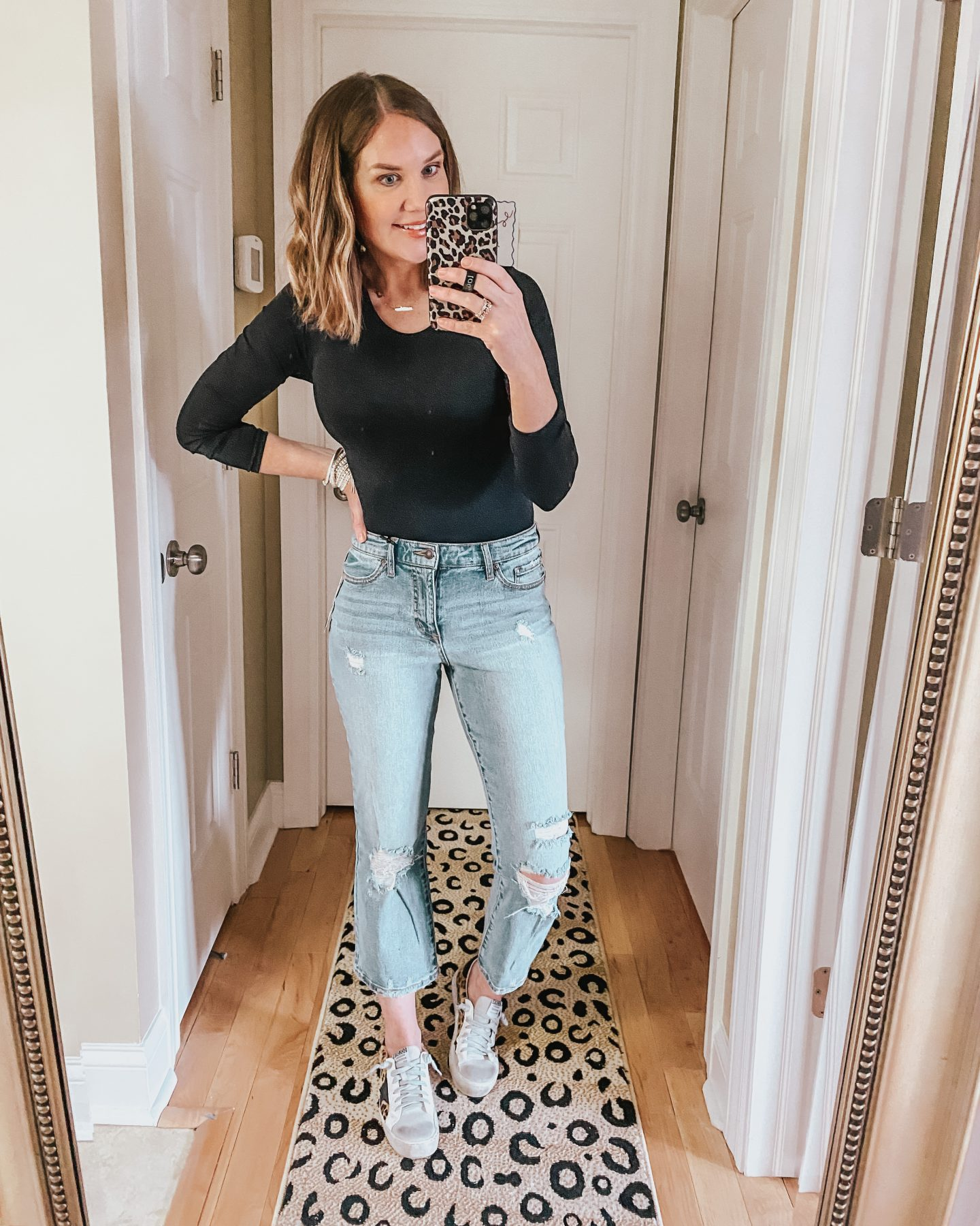 Sophia Vergara for Walmart, crop flare jeans