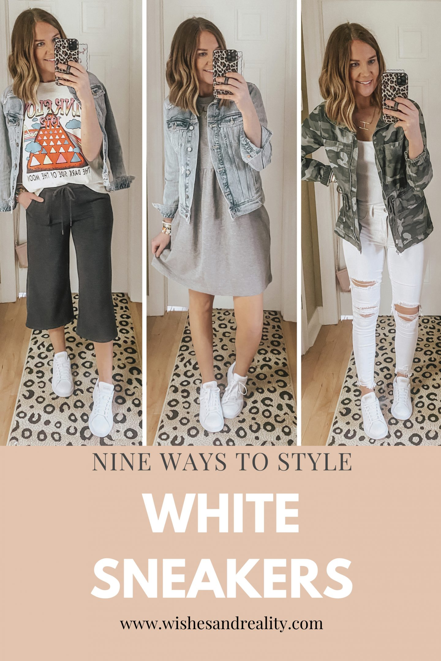 Nine Ways to Style sneakers