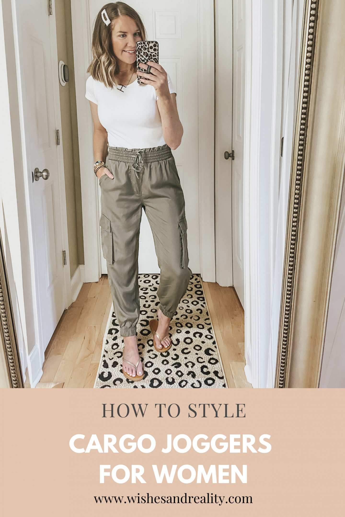 How to Style Cargo Joggers for Women