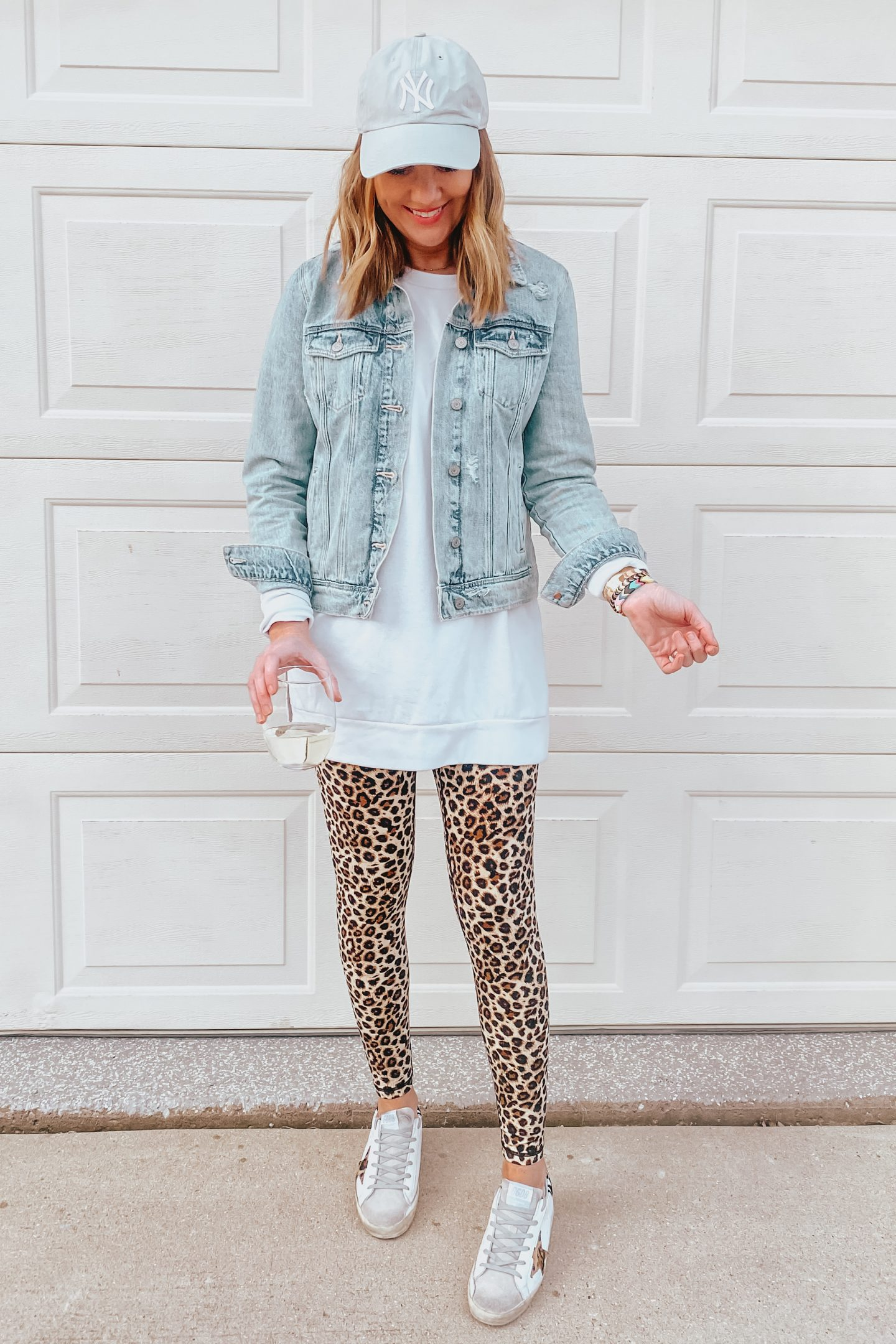 leopard leggings outfit