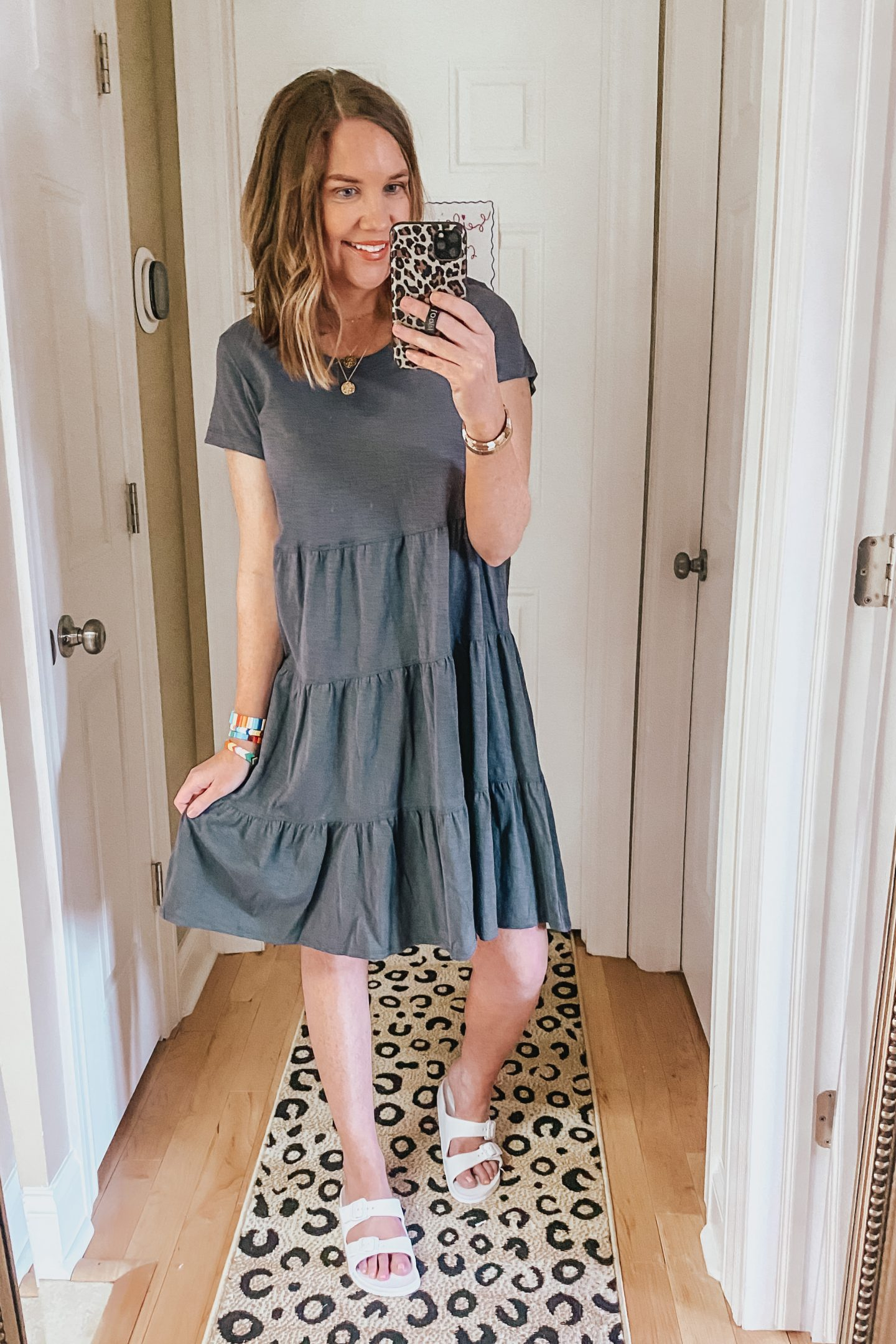 Summer Clothes for Women, tiered t-shirt dress, walmart fashion finds