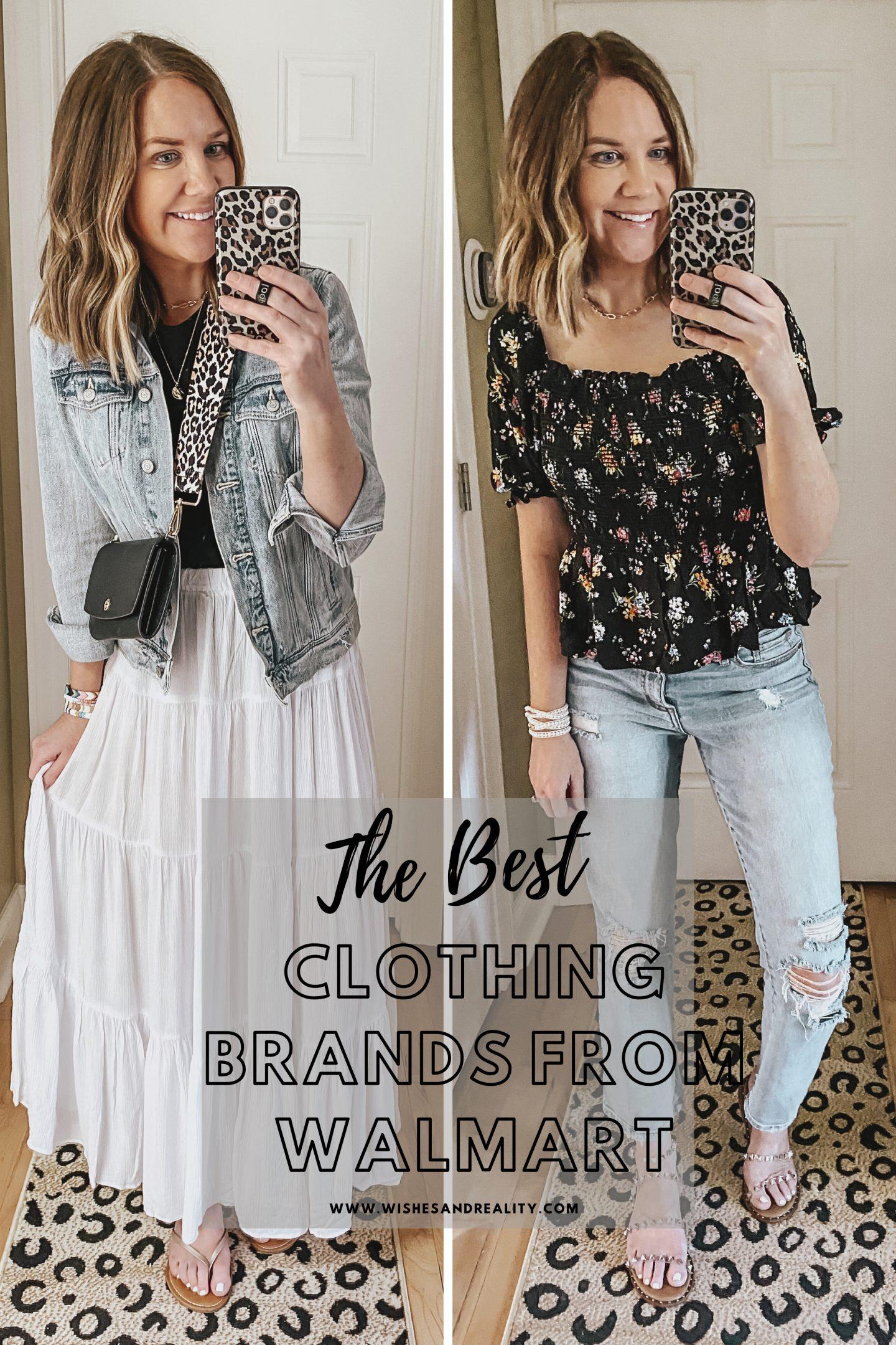 best clothing brands at Walmart