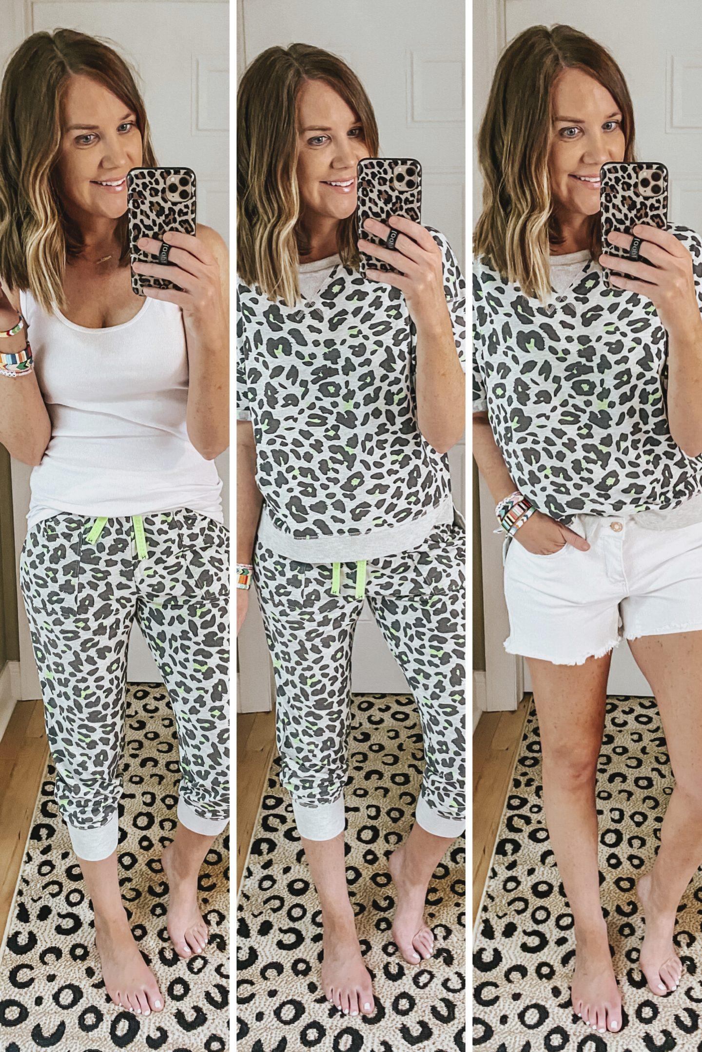 best clothing brands at Walmart, secret treasures, lounge set, leopard