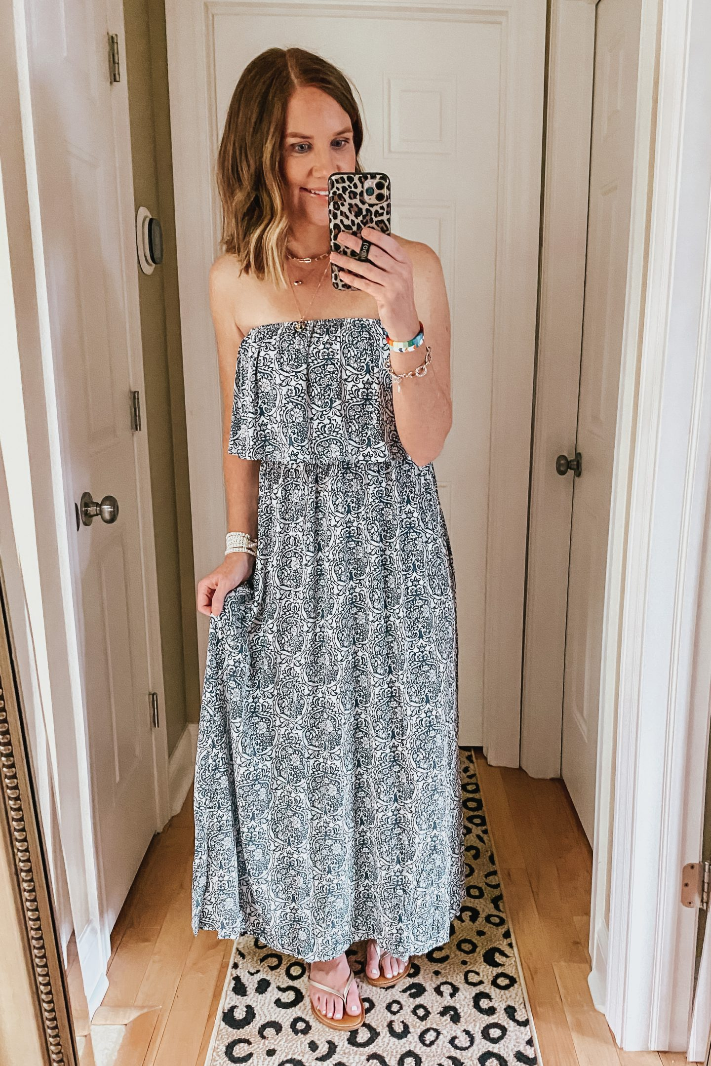 summer-Amazon-style-picks-2020-ruffle-strapless-maxi-dress