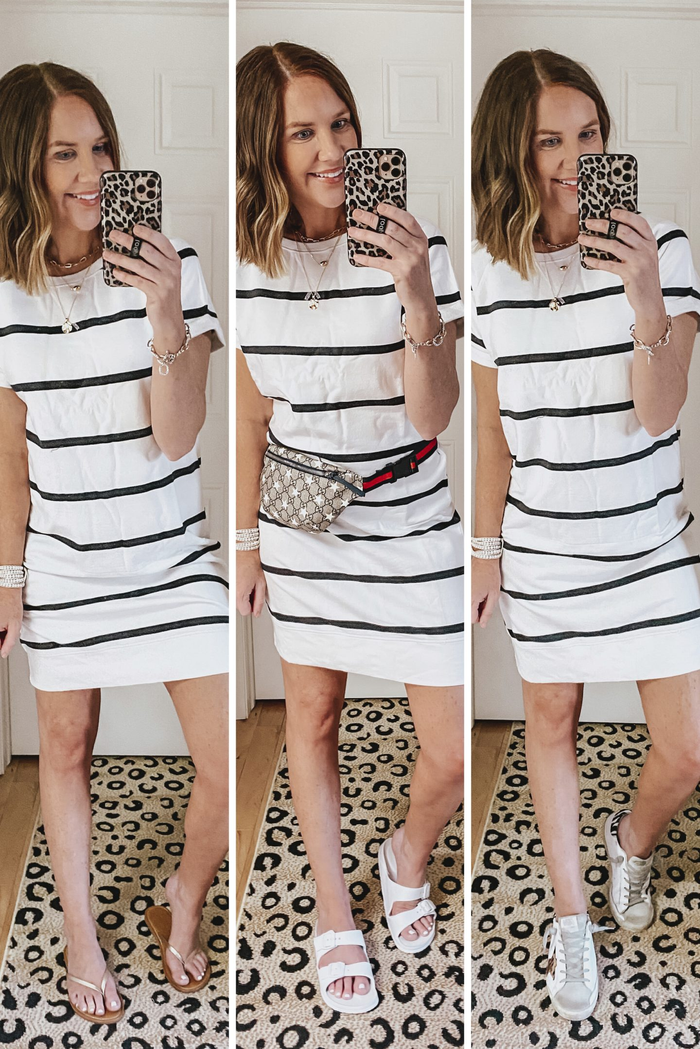 summer-Amazon-style-picks-2020-striped-short-sleeve-t-shirt-dress