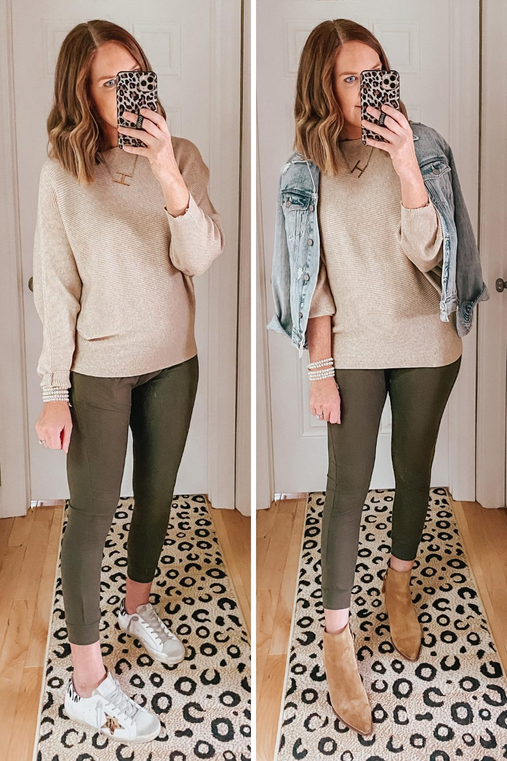 joggers outfit, dolman sleeve sweater, easy casual fall outfits