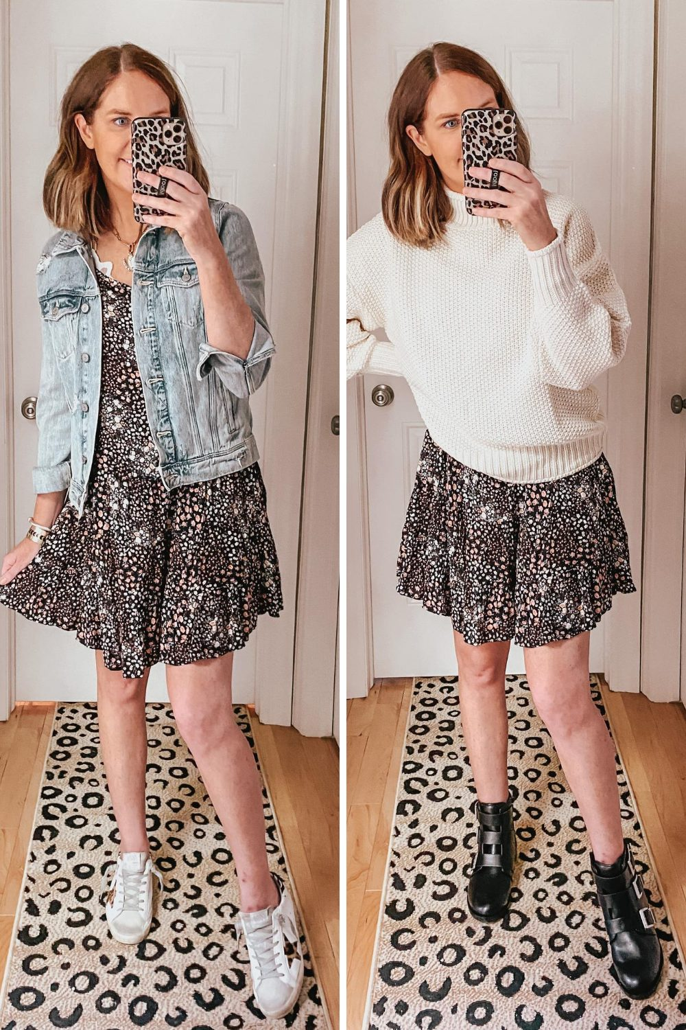 cute-casual-fall-outfits-from-Target-styling-a-sundress-for-fall