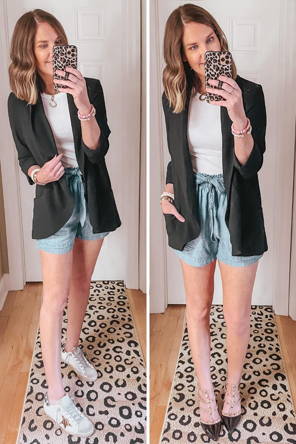 high-waist-champbray-shorts-outfit