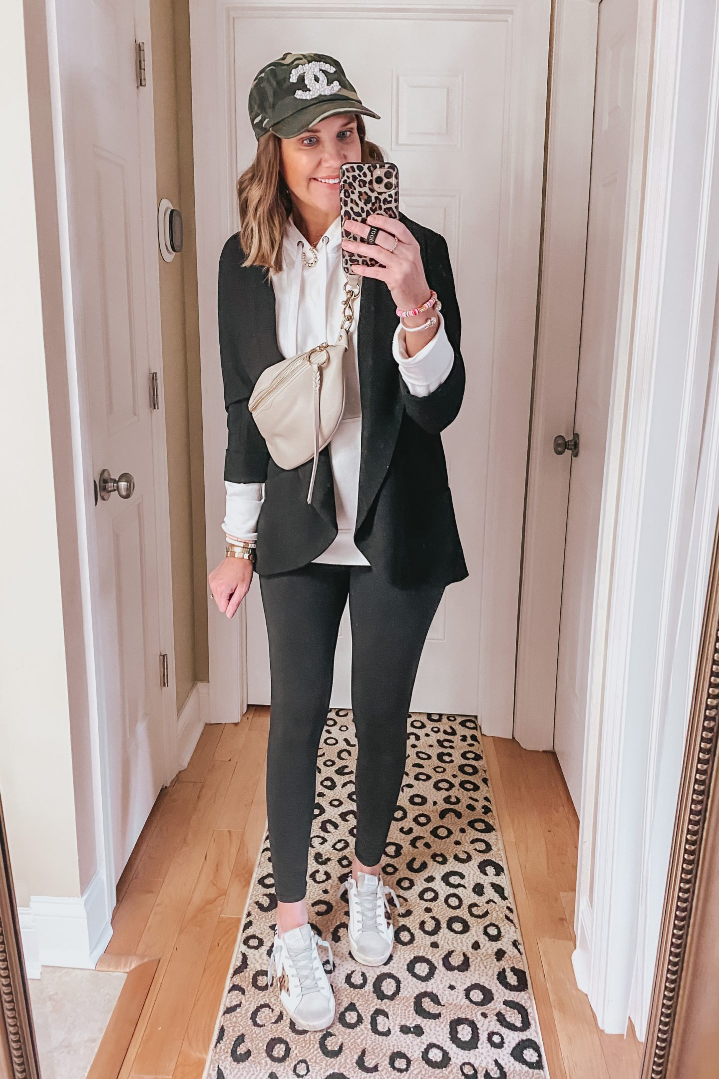how-to-style-a-blazer-sporty-outfit