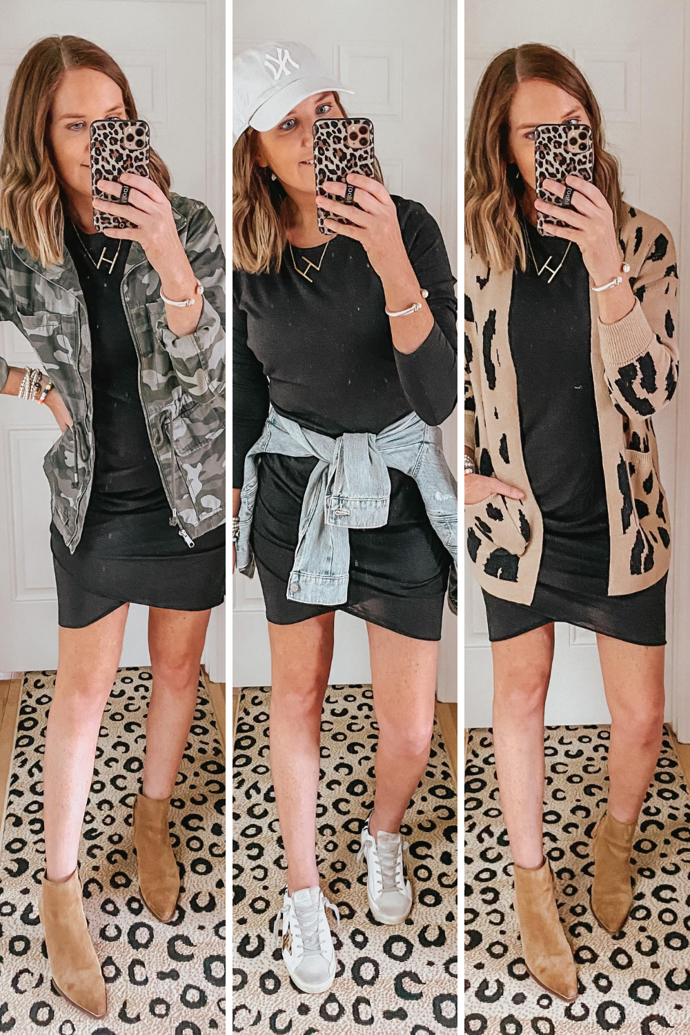 three ways to style a little black dress, fall fashion trends from Amazon