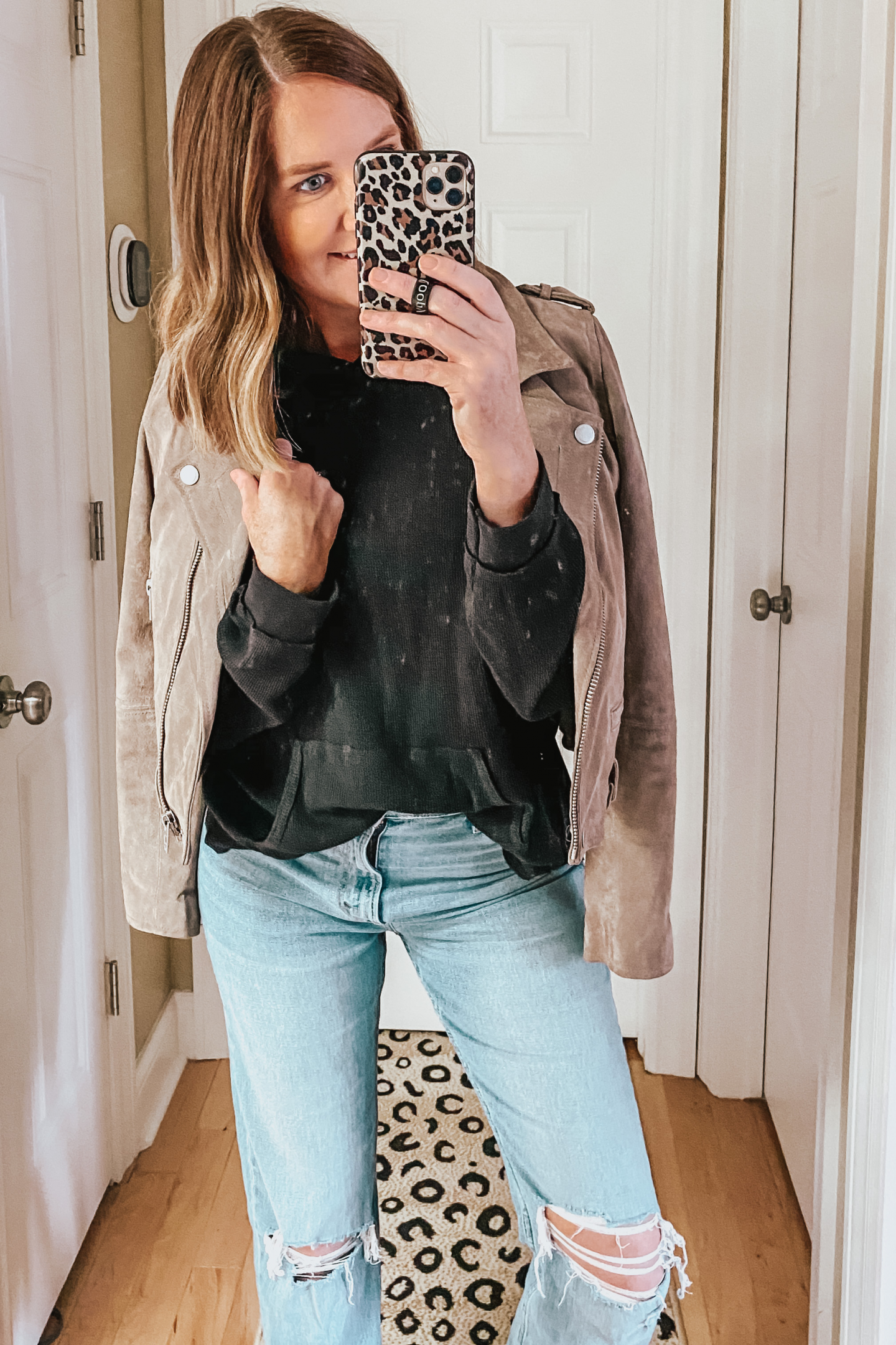 leather jacket, moto jacket, The Best Louis Vuitton Dupes, Fall Outfits