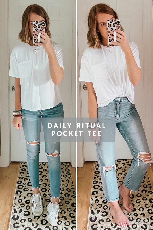 Daily Ritual Pocket Tee