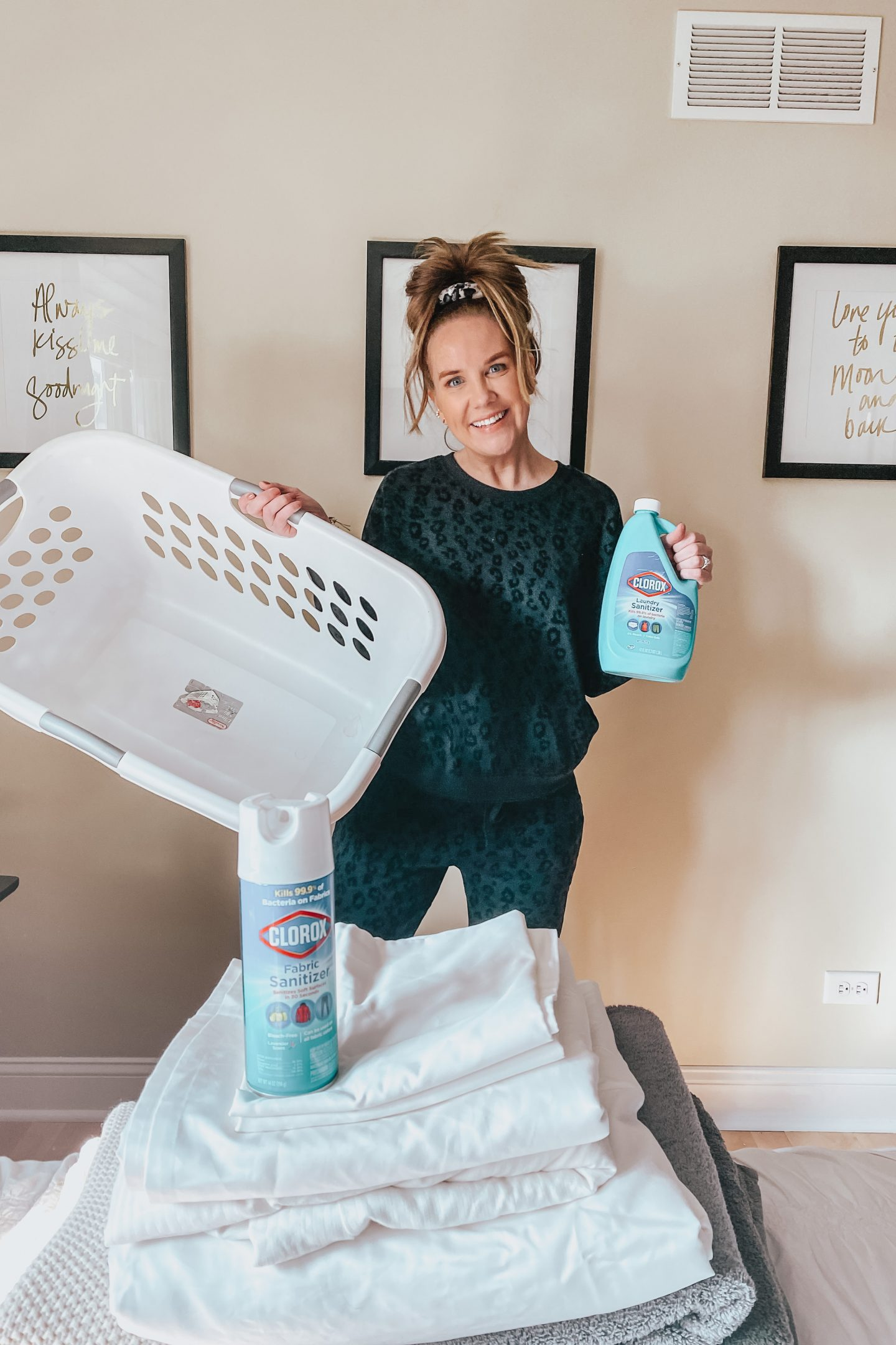 How to Disinfect Laundry with Clorox Laundry Sanitizer