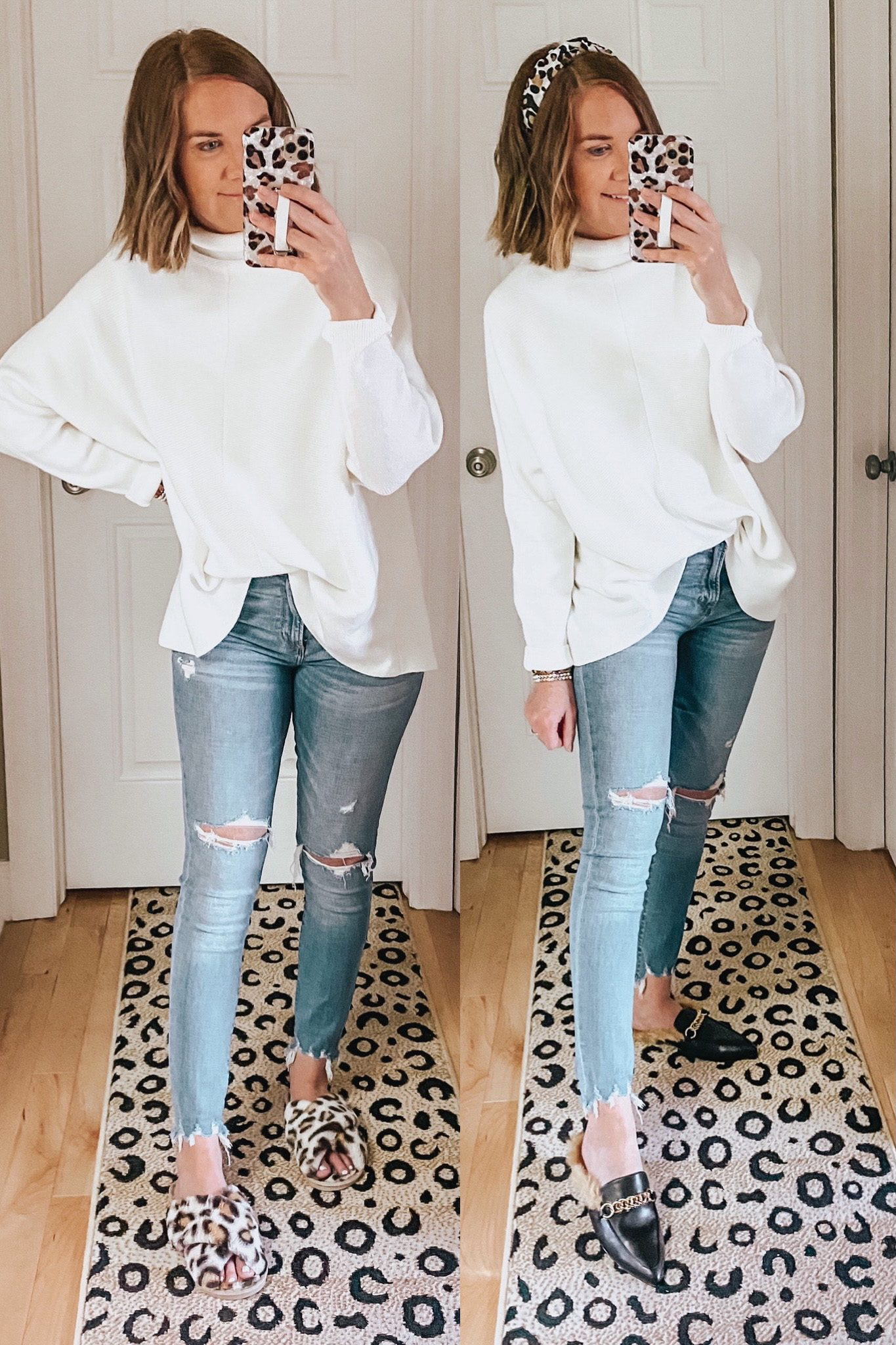 the best Amazon sweater, Free People dupe, slouchy sweater, turtleneck sweater