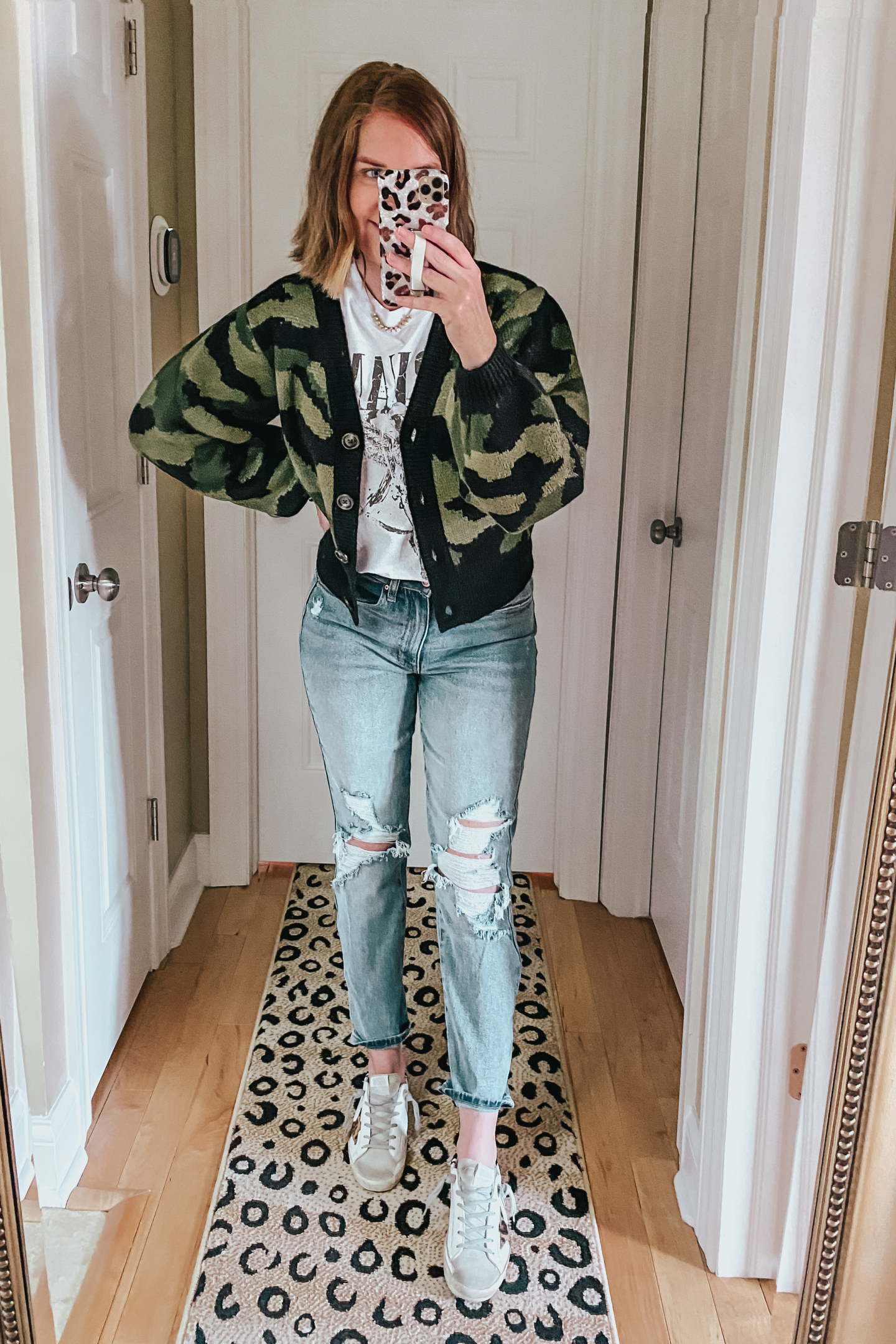 cropped-camo-cardigan-and-graphic-tee