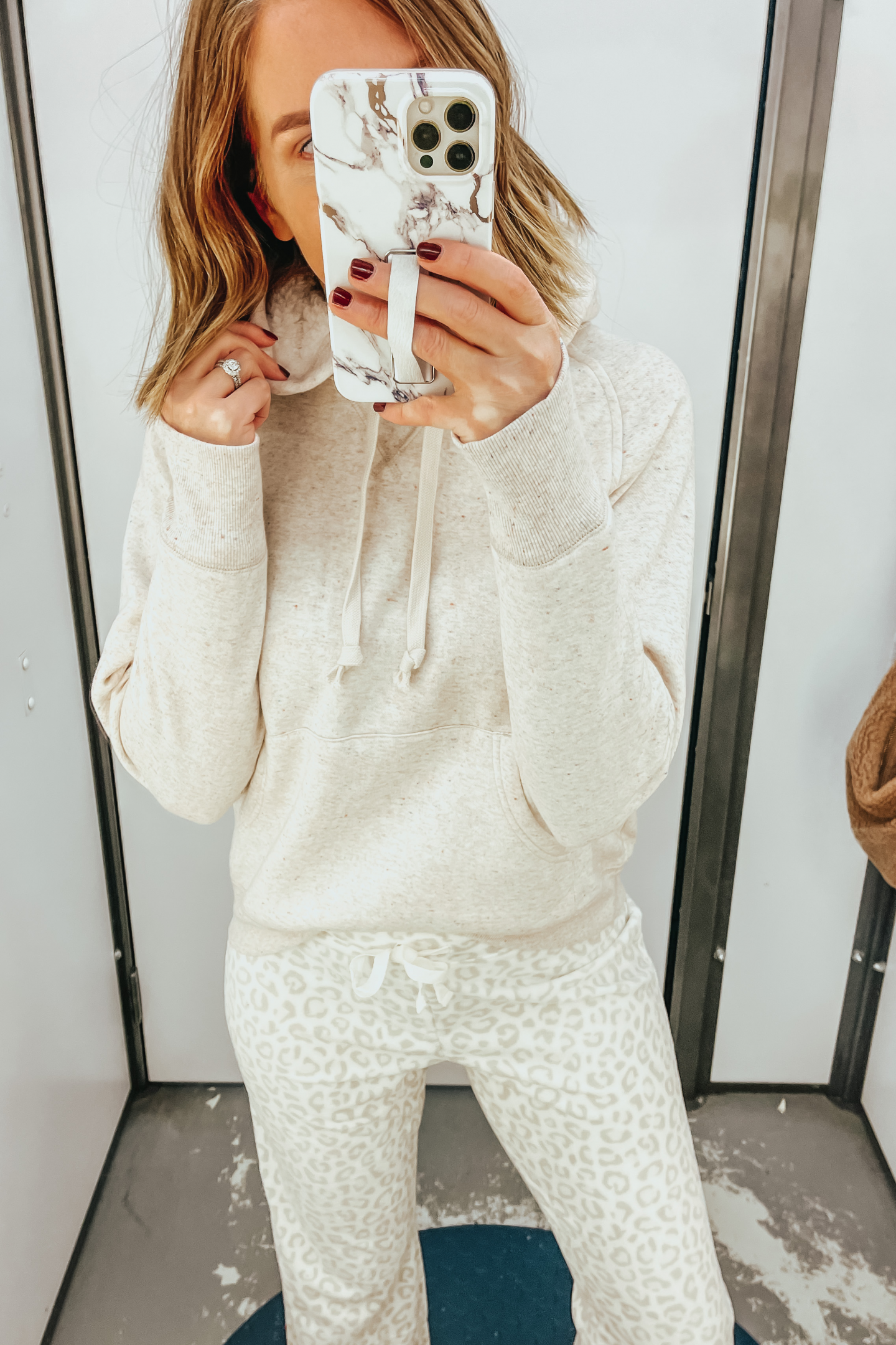 Cozy winter Old Navy outfit
