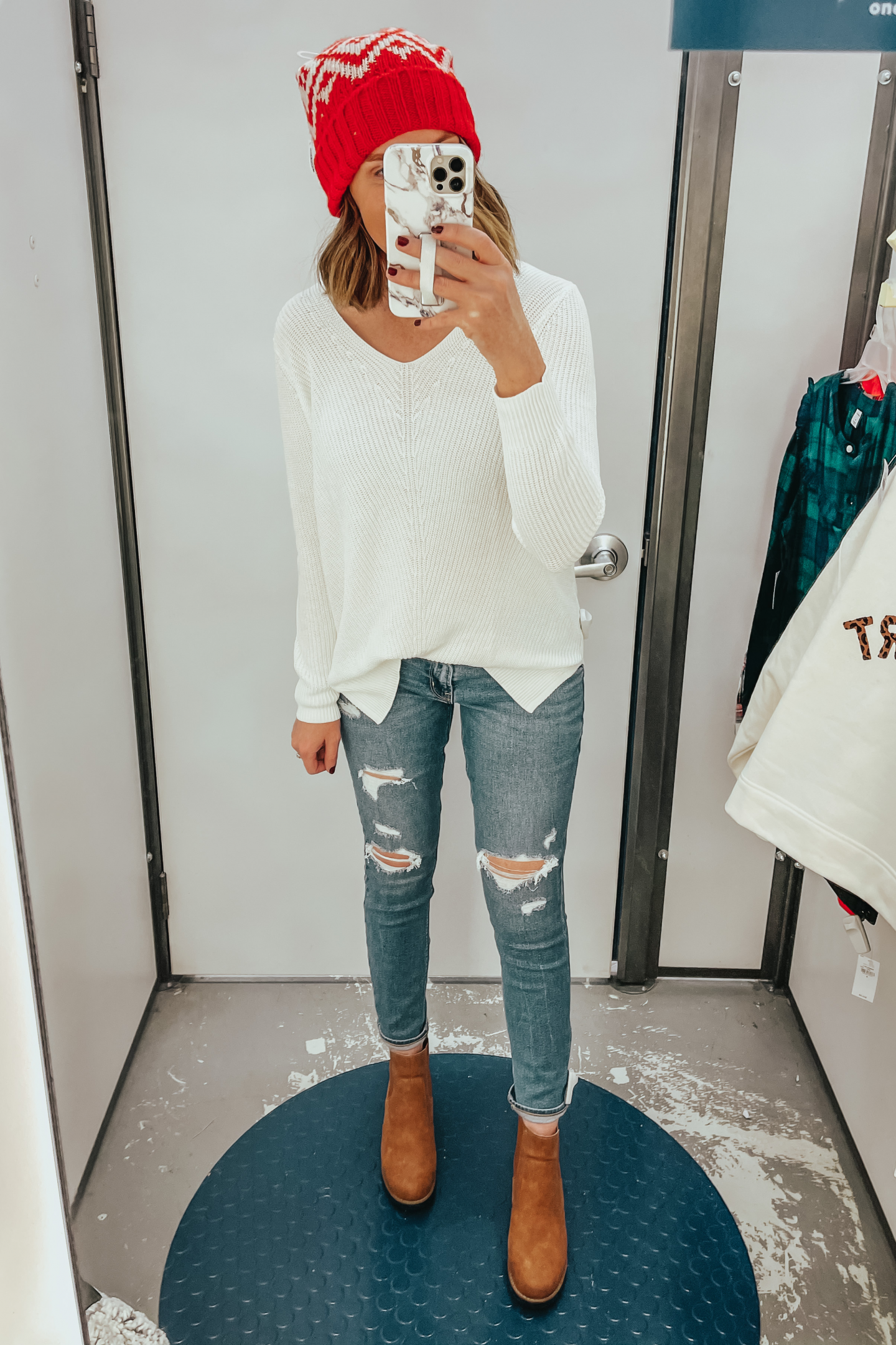 Old Navy Holiday outfit idea
