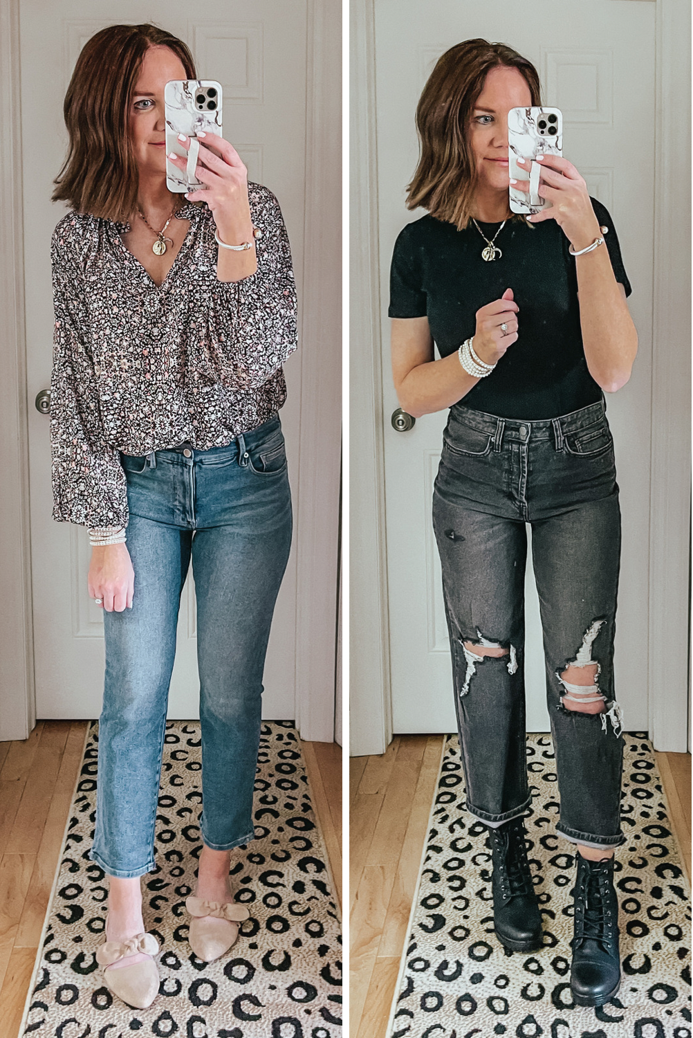 tops to wear with straight leg jeans, fitted tops, blouses