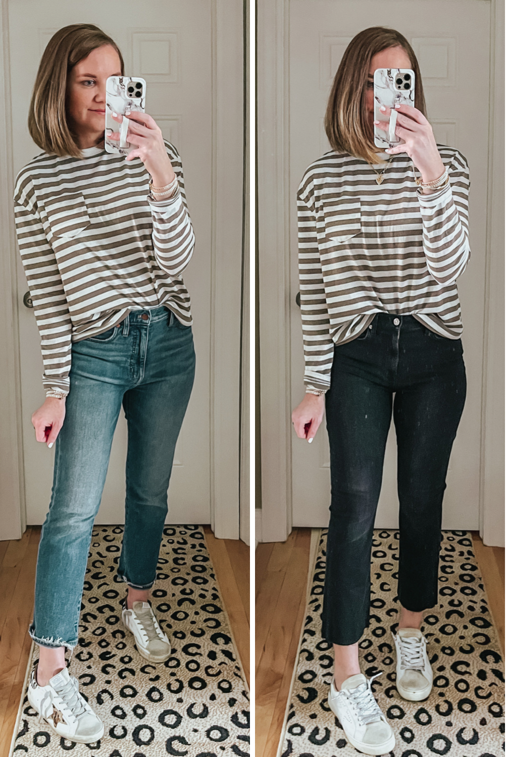 Target Must Haves February 2021, A New Day cropped long sleeve striped tee