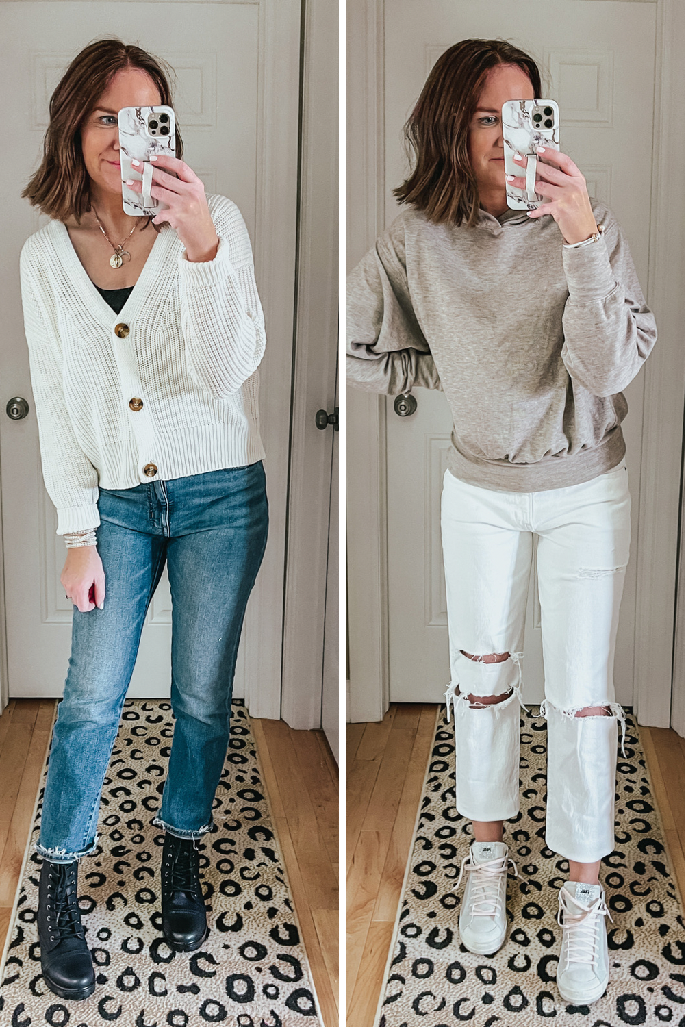 tops to wear with straight leg jeans, cropped boxy tops