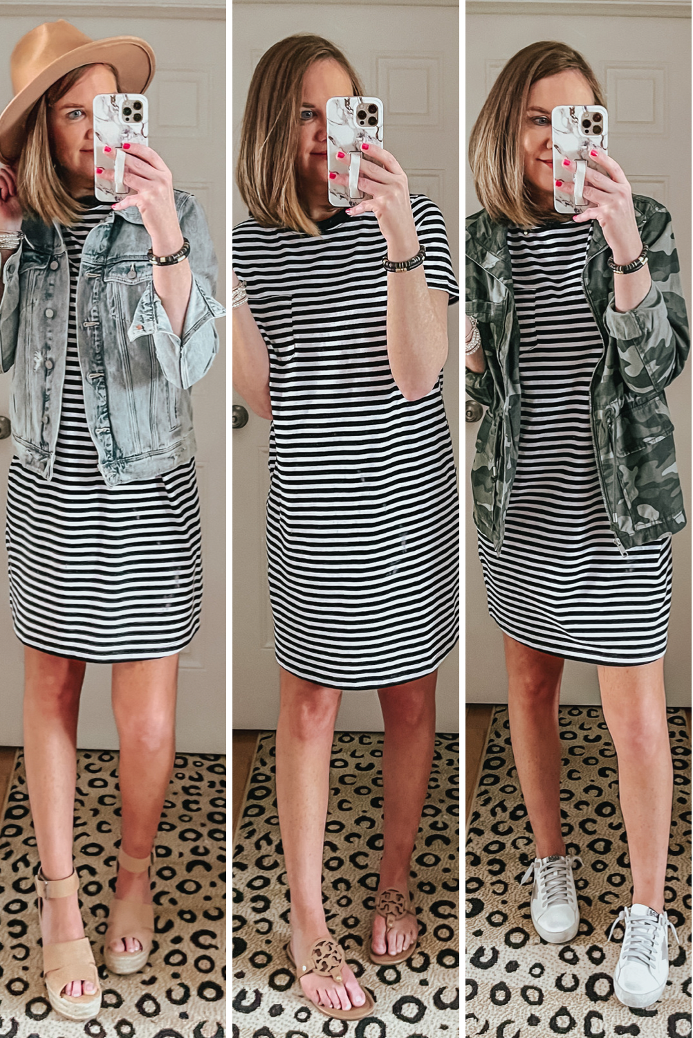 Spring Walmart Outfits that are Cute and Affordable, $10n tee shirt dress