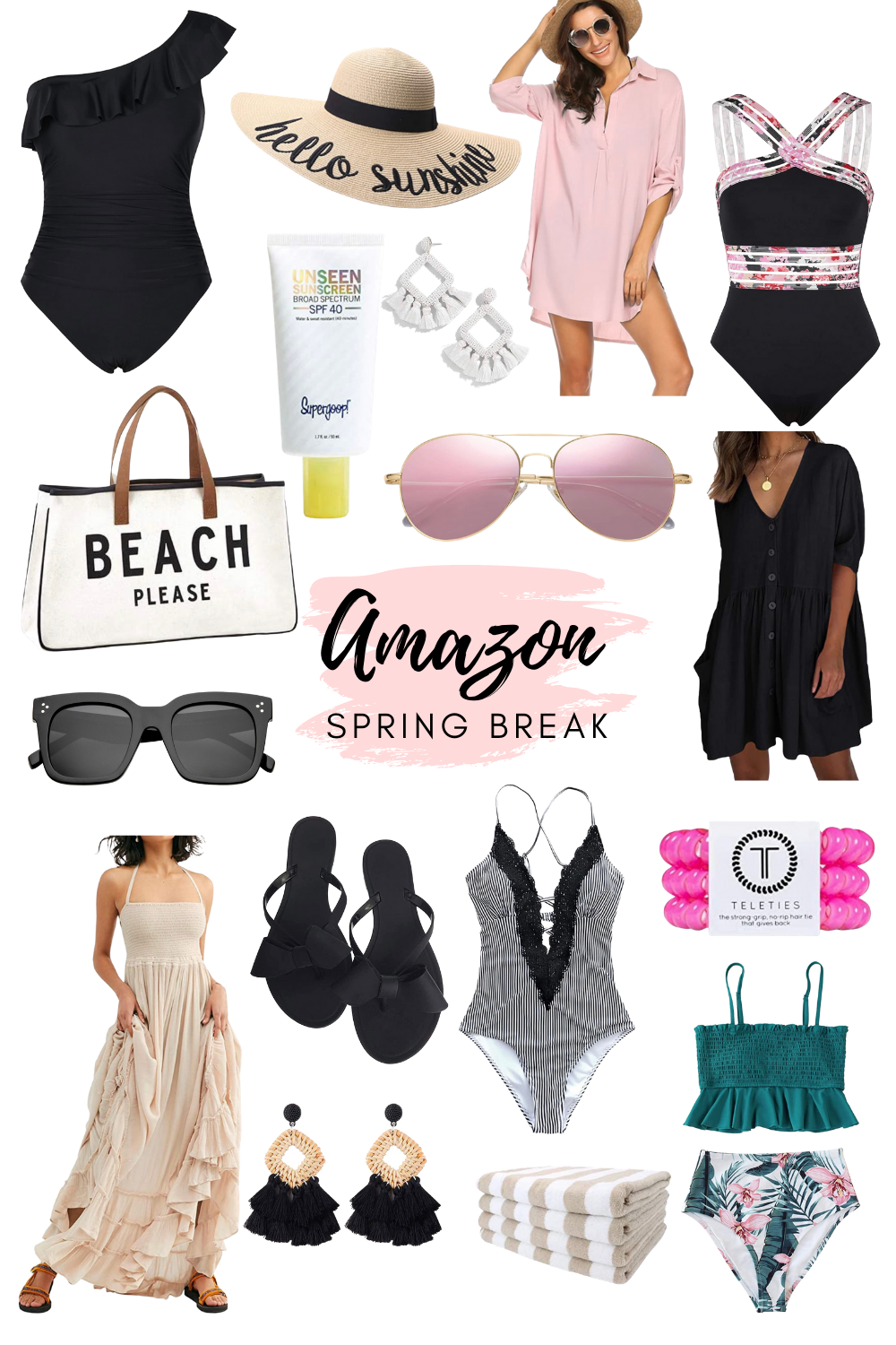 Amazon Spring Break Packing List