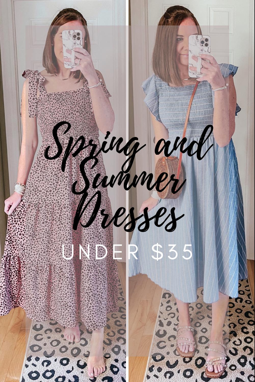 Spring and Summer Dresses Under $35